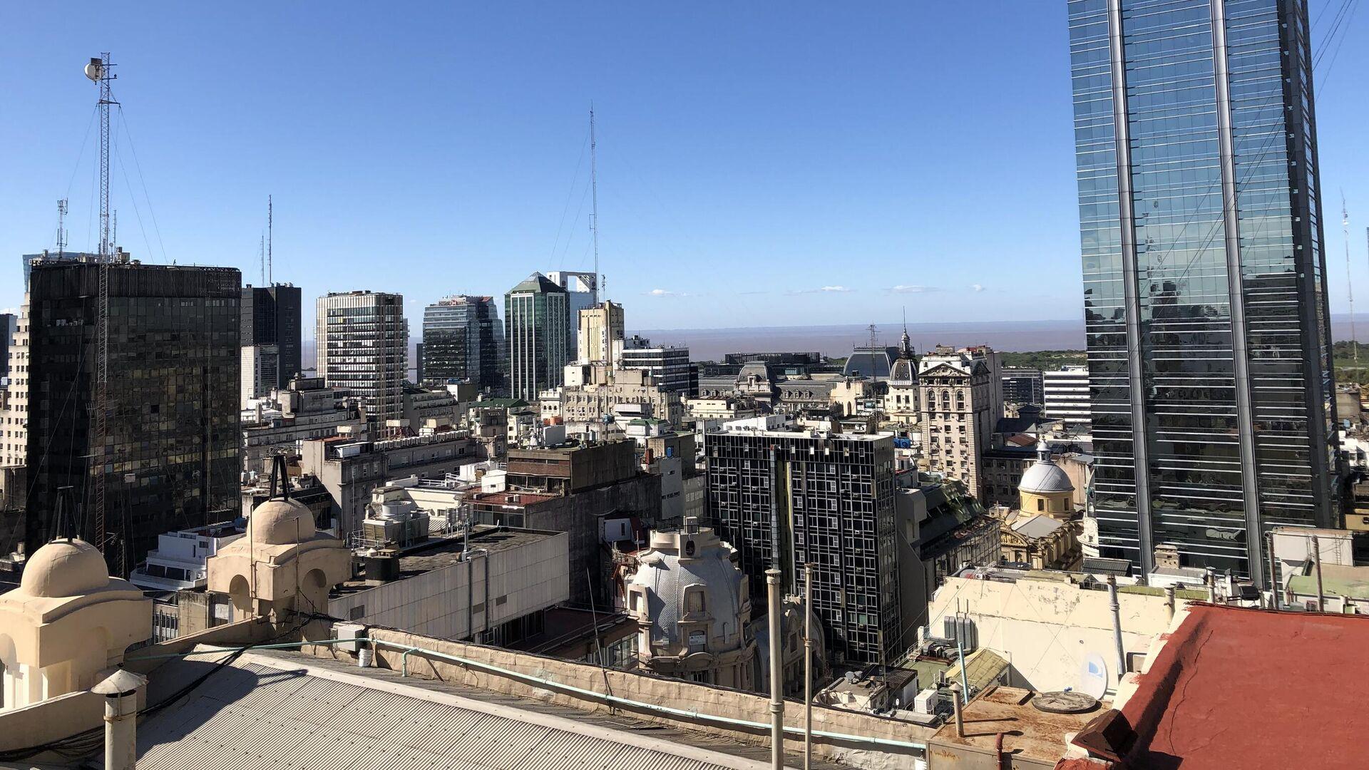 En el casco histórico, se concentran los edificios públicos y corporativos de 'la city' porteña - Sputnik Mundo, 1920, 16.07.2021