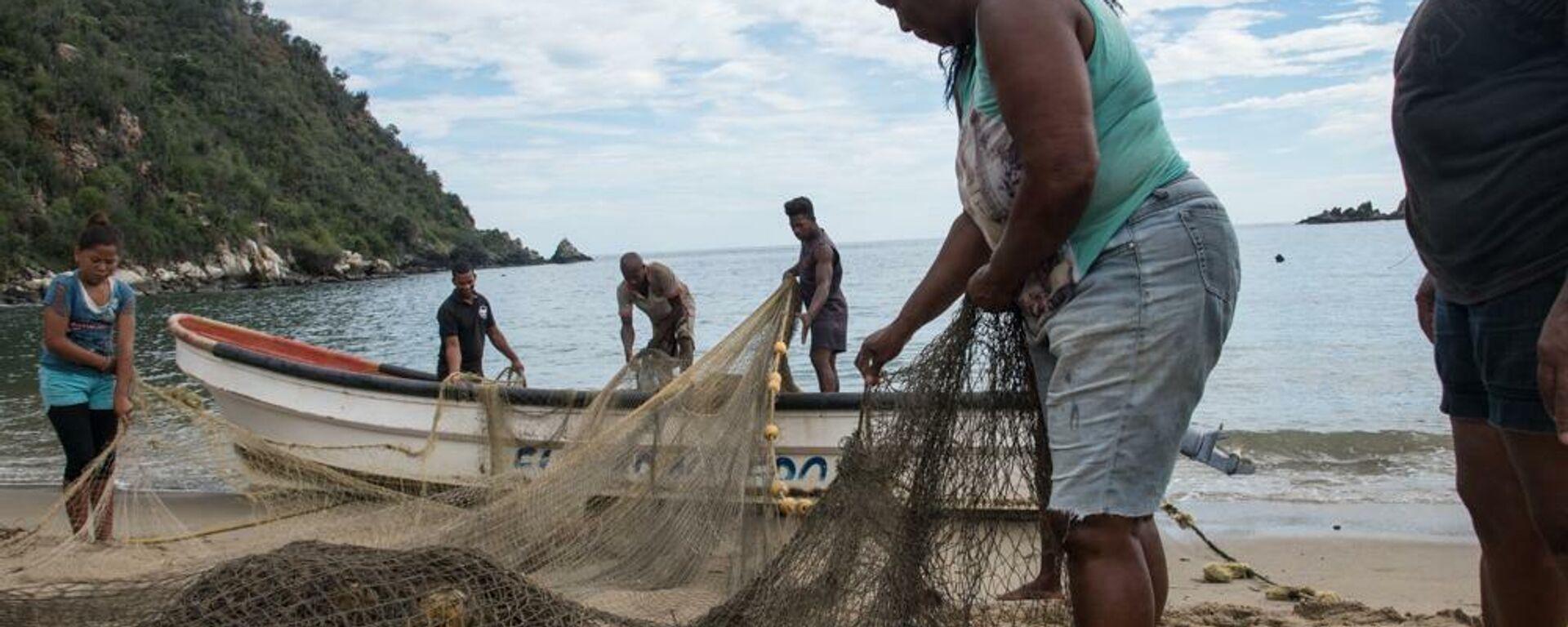 Pescadoras venezolanas - Sputnik Mundo, 1920, 16.07.2021