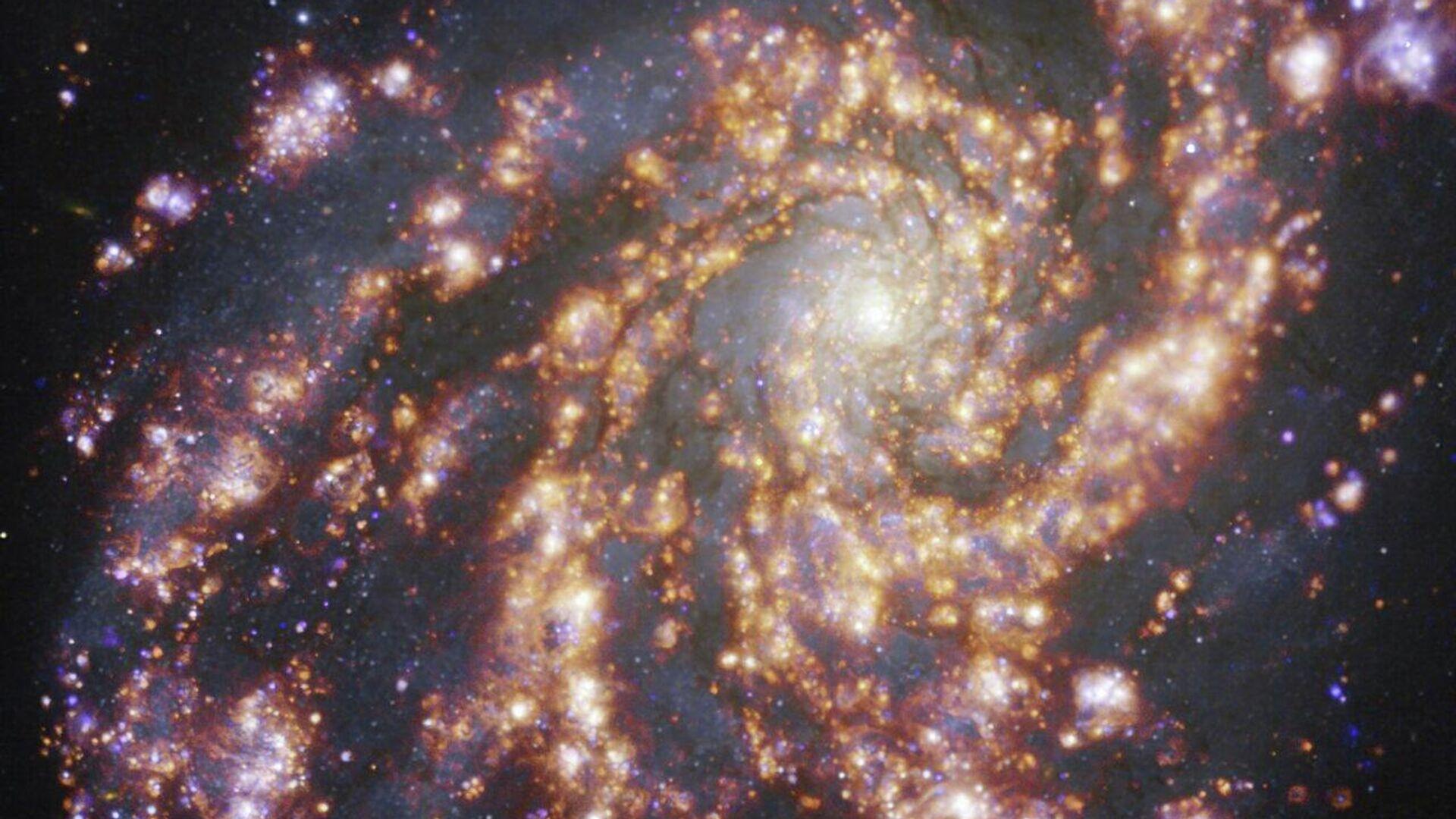 La galaxia NGC 4254 - Sputnik Mundo, 1920, 17.07.2021