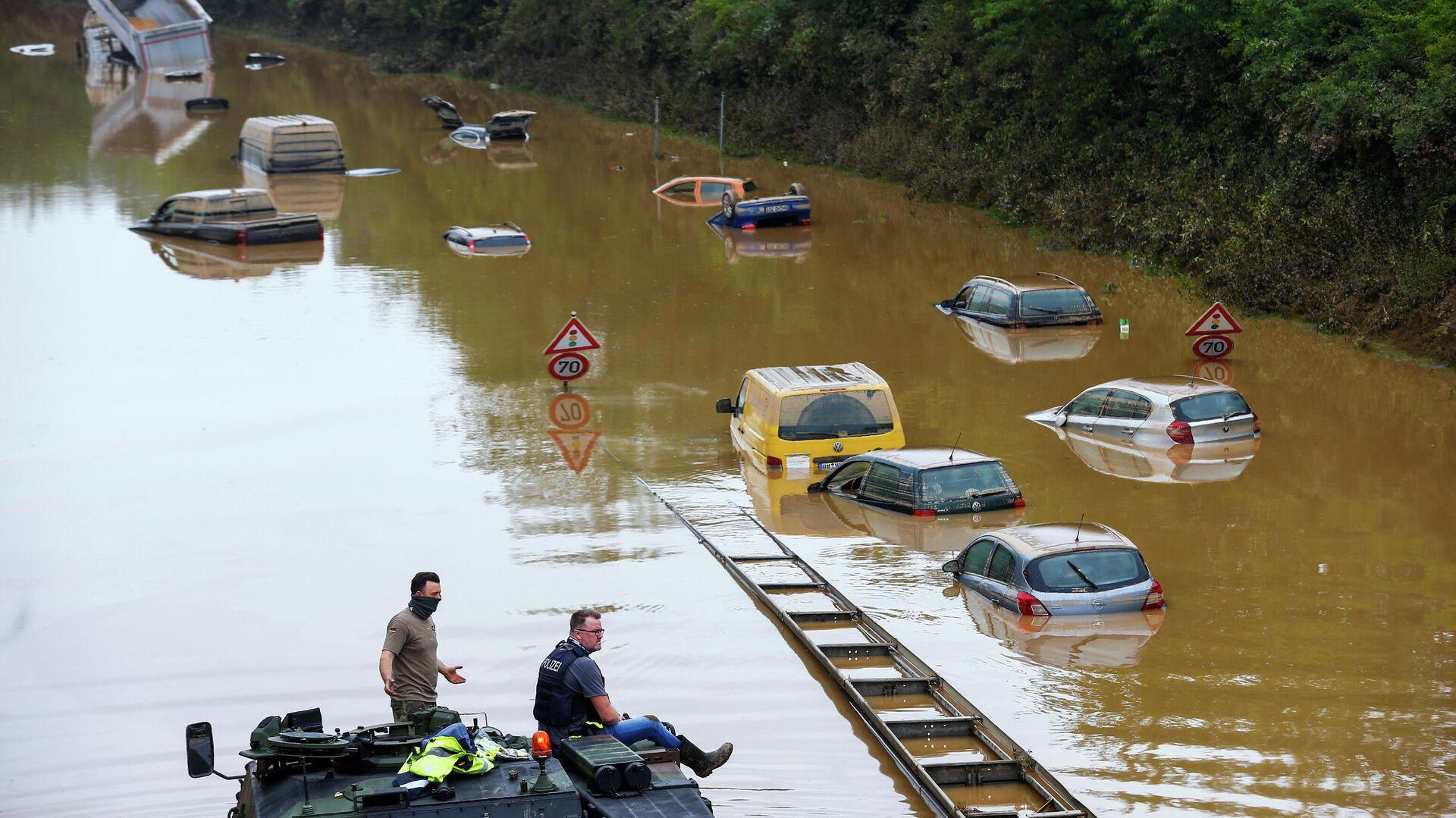 Inundaciones en Alemania - Sputnik Mundo, 1920, 17.07.2021