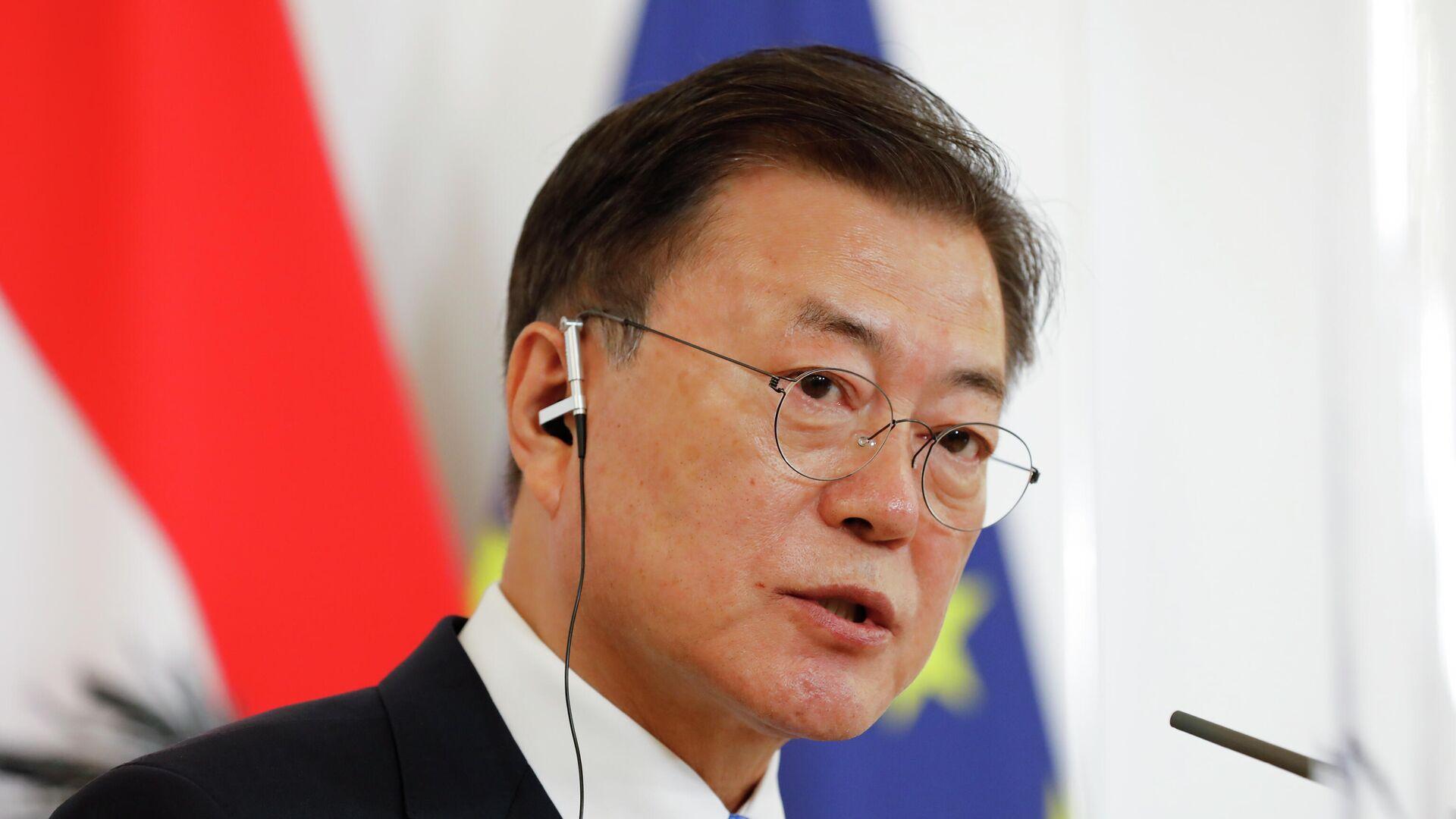 Moon Jae-in, presidente de Corea del Sur - Sputnik Mundo, 1920, 18.07.2021