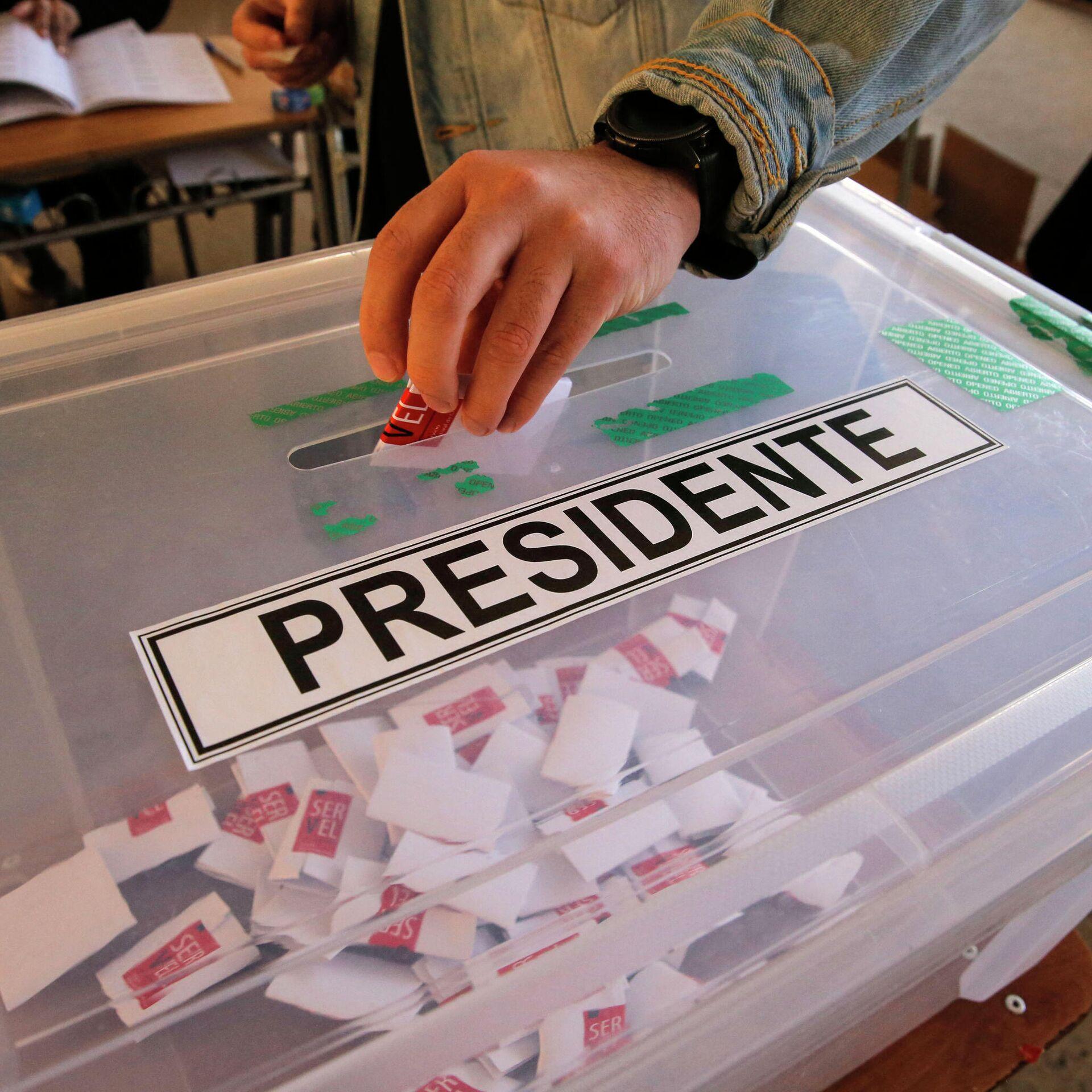 Se imponen candidatos Boric y Sichel en primarias en Chile - 18.07.2021, Sputnik Mundo