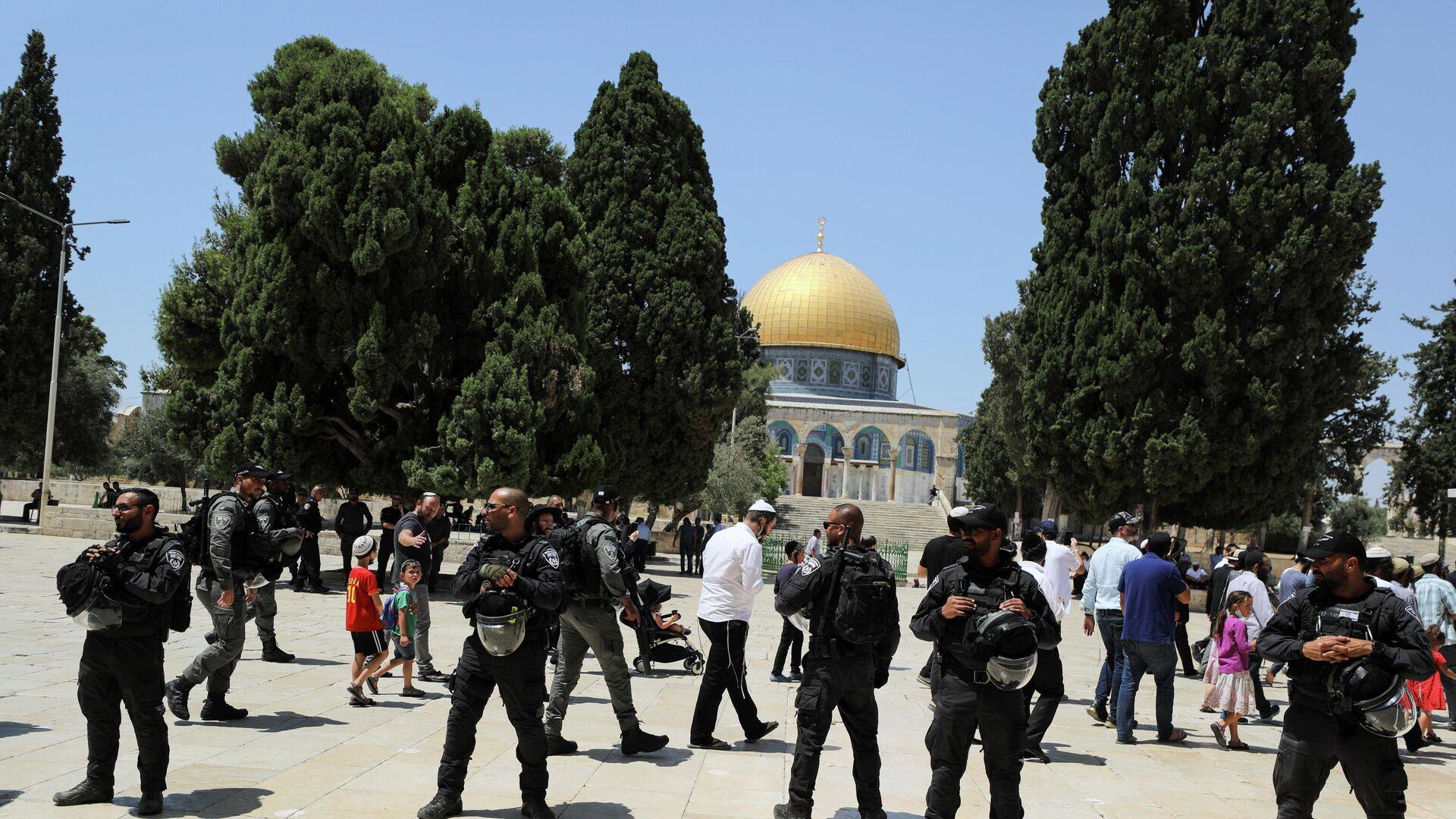 Las visitas judías a las que se oponen los palestinos,avivan las tensiones en Jerusalén - Sputnik Mundo, 1920, 19.07.2021