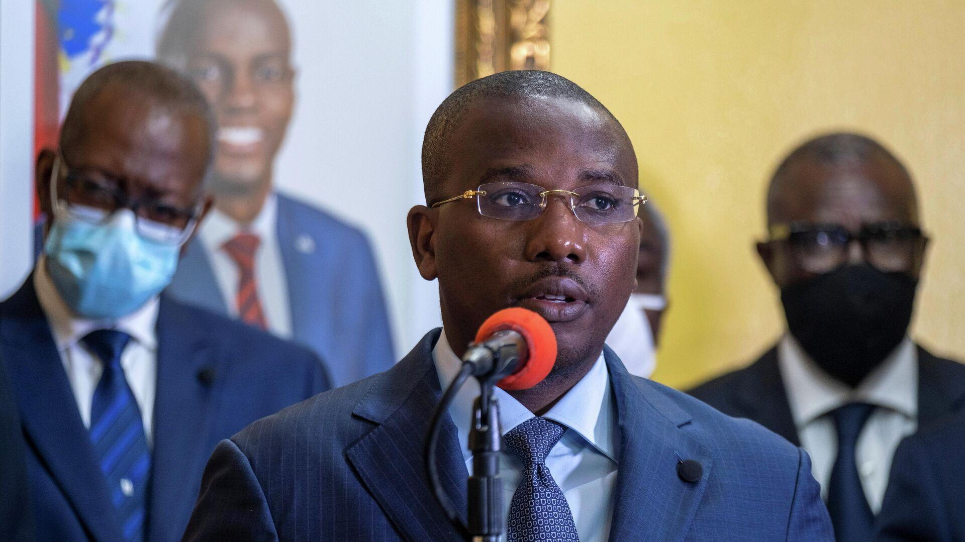 El primer ministro interino de Haití, Claude Joseph - Sputnik Mundo, 1920, 19.07.2021