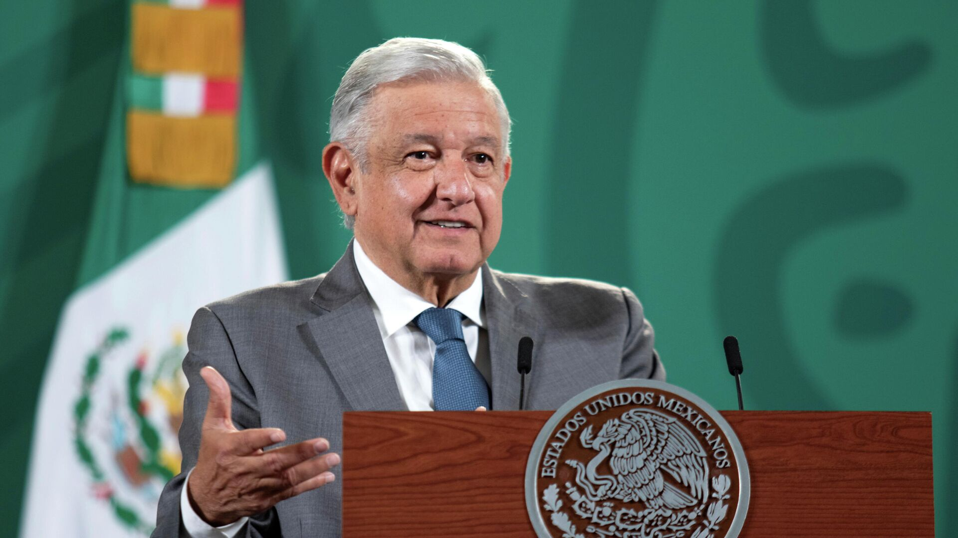 Andrés Manuel López Obrador, presidente de México - Sputnik Mundo, 1920, 05.08.2021