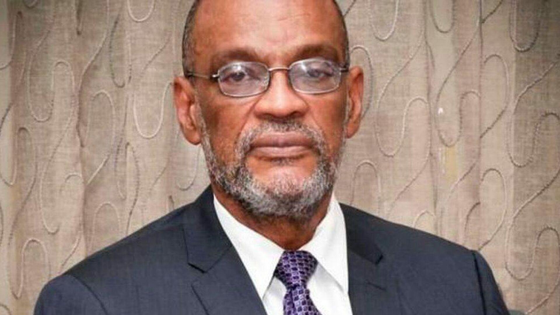Ariel Henry, primer ministro de Haití - Sputnik Mundo, 1920, 08.09.2021