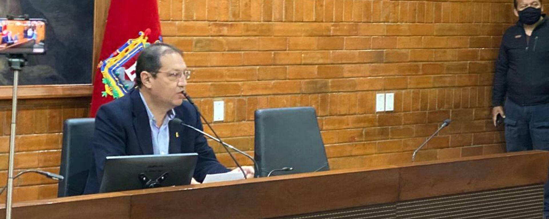 Santiago Guarderas, alcalde de Quito - Sputnik Mundo, 1920, 20.07.2021