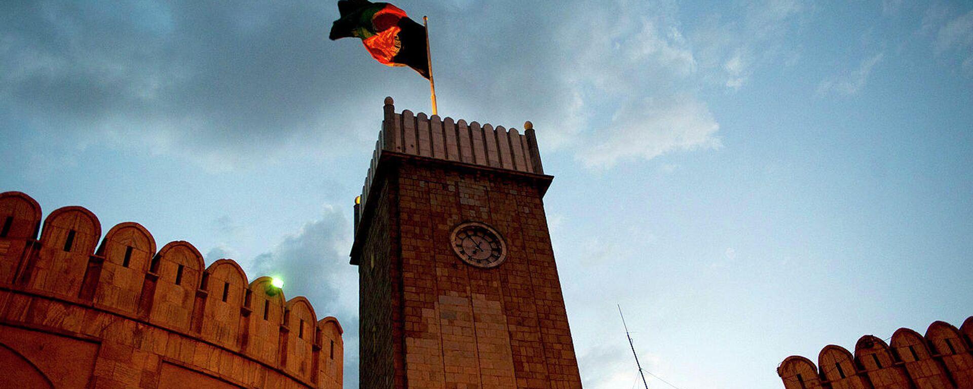 Palacio presidencial en Kabul, Afganistán - Sputnik Mundo, 1920, 20.07.2021