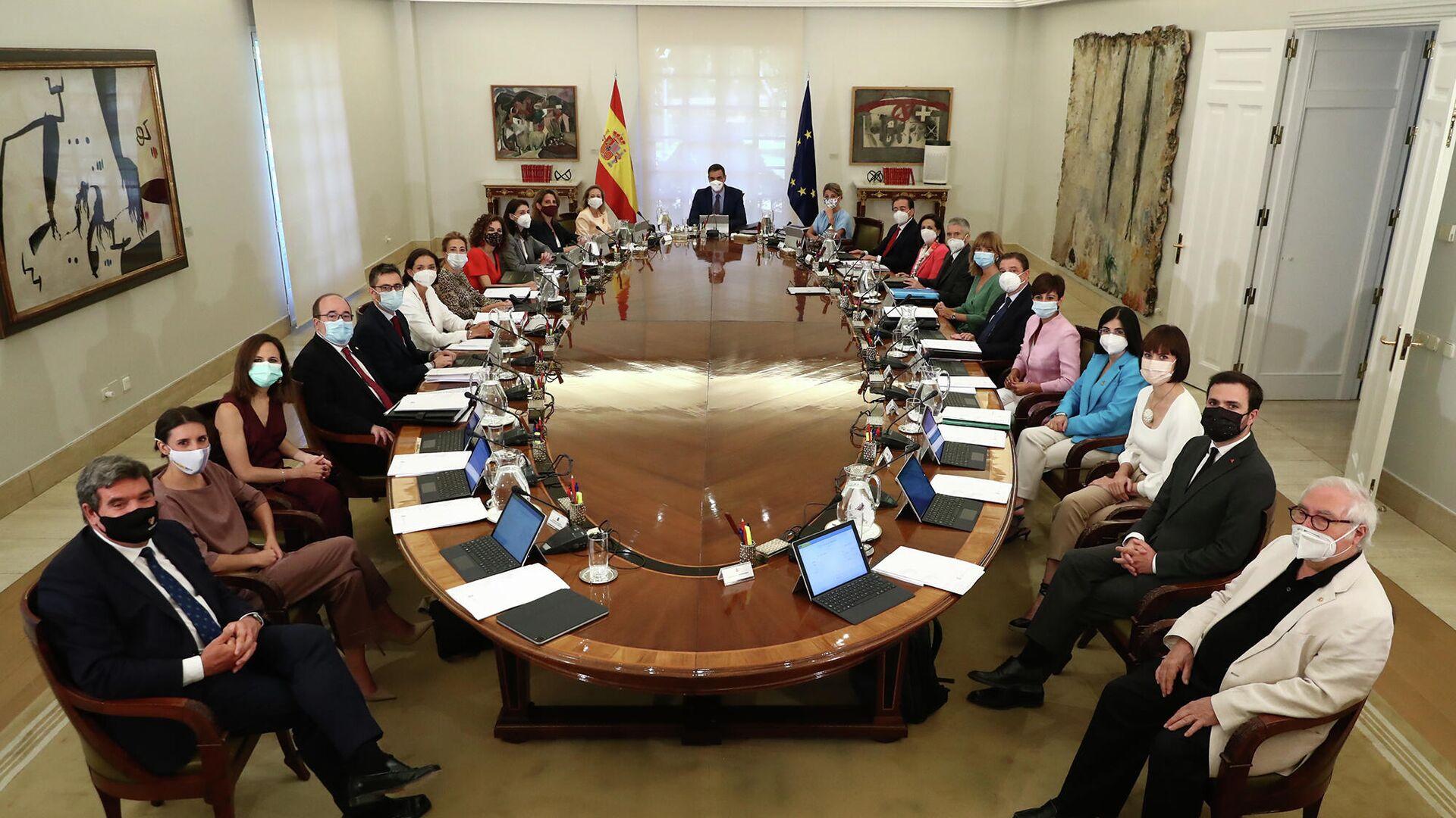 Reunión del Consejo de Ministros de España del 13 de julio de 2021 - Sputnik Mundo, 1920, 27.07.2021