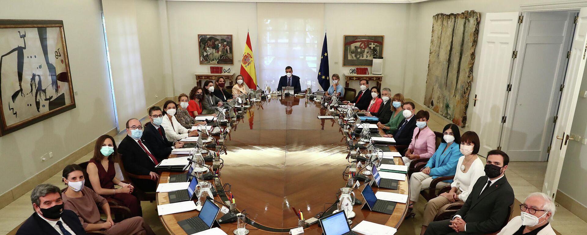 Reunión del Consejo de Ministros de España del 13 de julio de 2021 - Sputnik Mundo, 1920, 20.07.2021