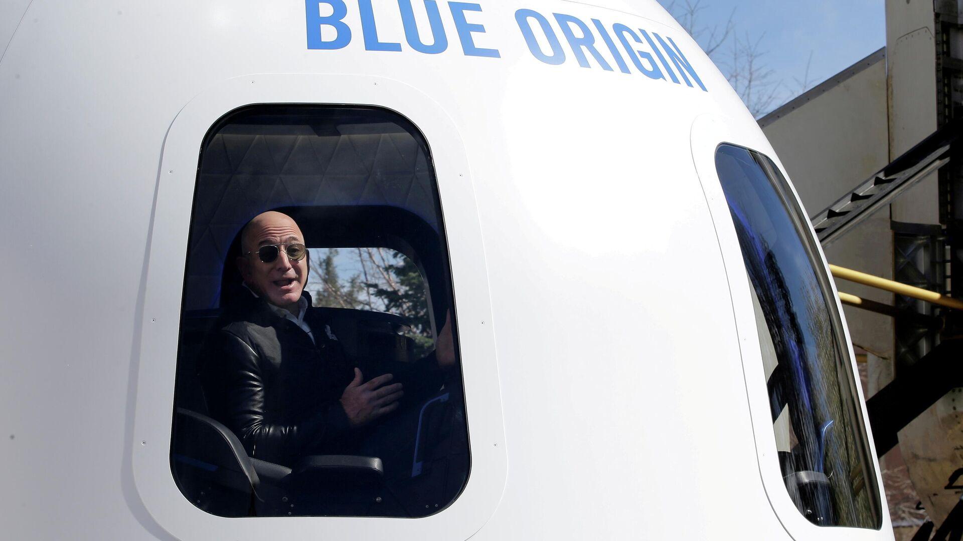 El fundador de Amazon, Jeff Bezos - Sputnik Mundo, 1920, 20.07.2021