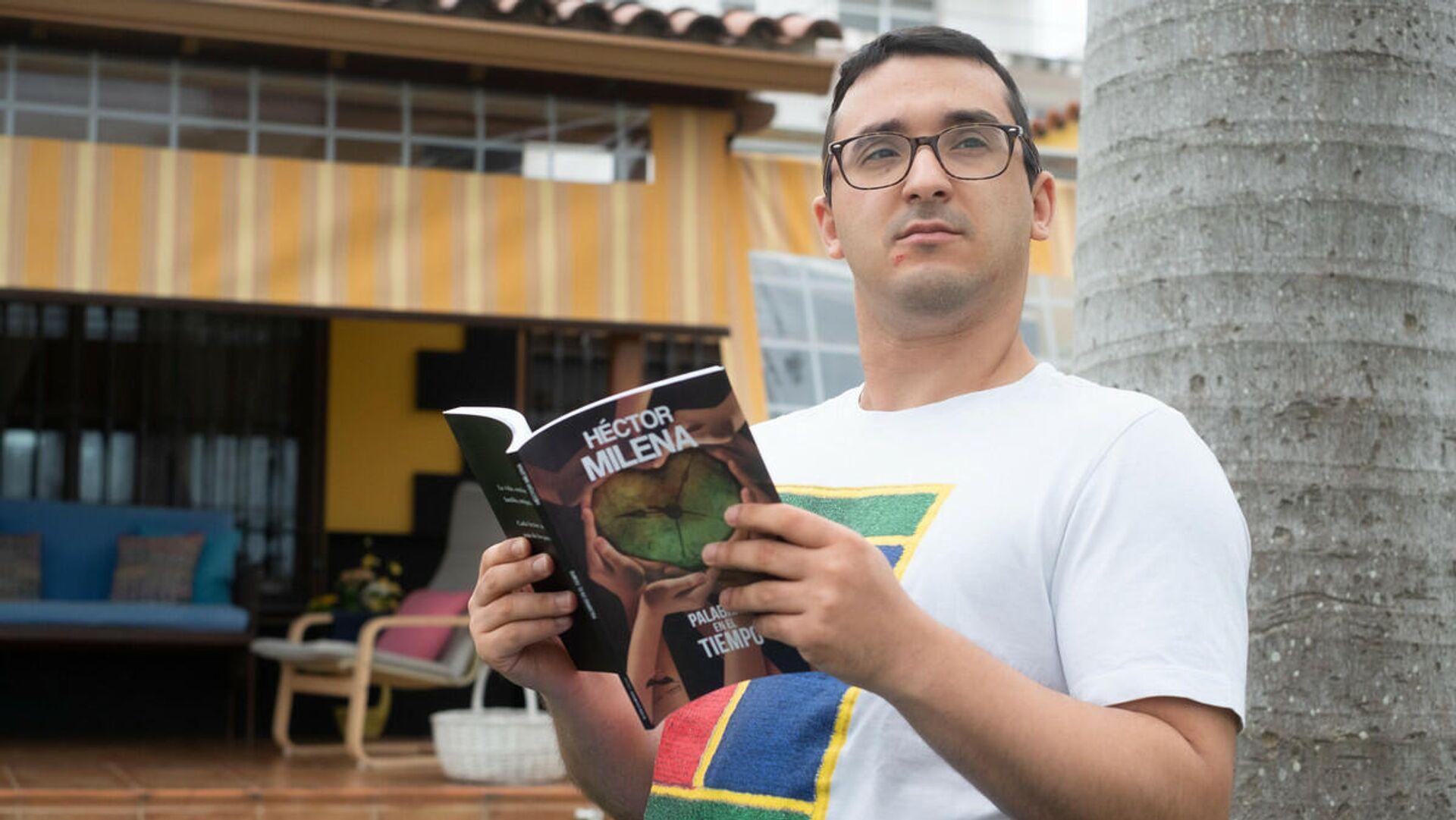Héctor Milena, poeta español con discapacidad física - Sputnik Mundo, 1920, 25.07.2021