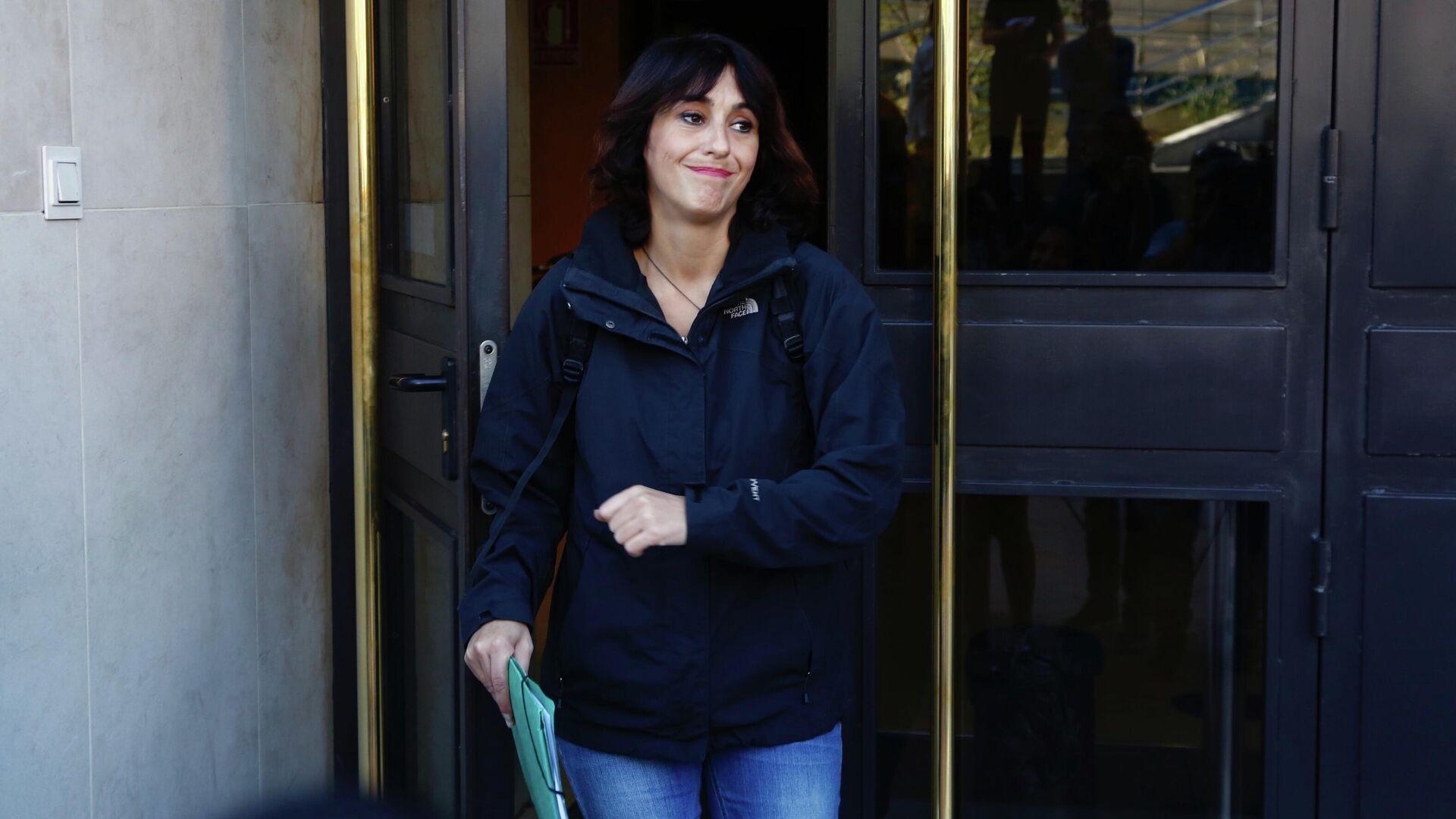 Juana Rivas acude a recoger la sentencia de su caso en España - Sputnik Mundo, 1920, 20.07.2021