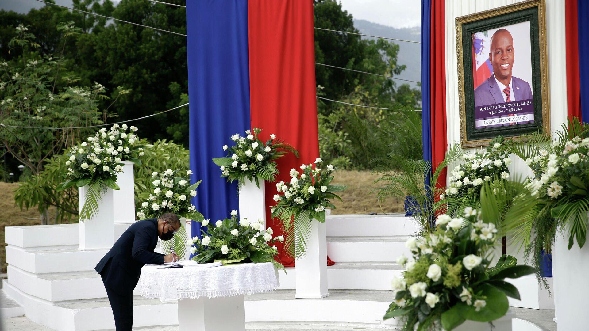 Homenaje al presidente de Haití, Jovenel Moise - Sputnik Mundo, 1920, 20.07.2021