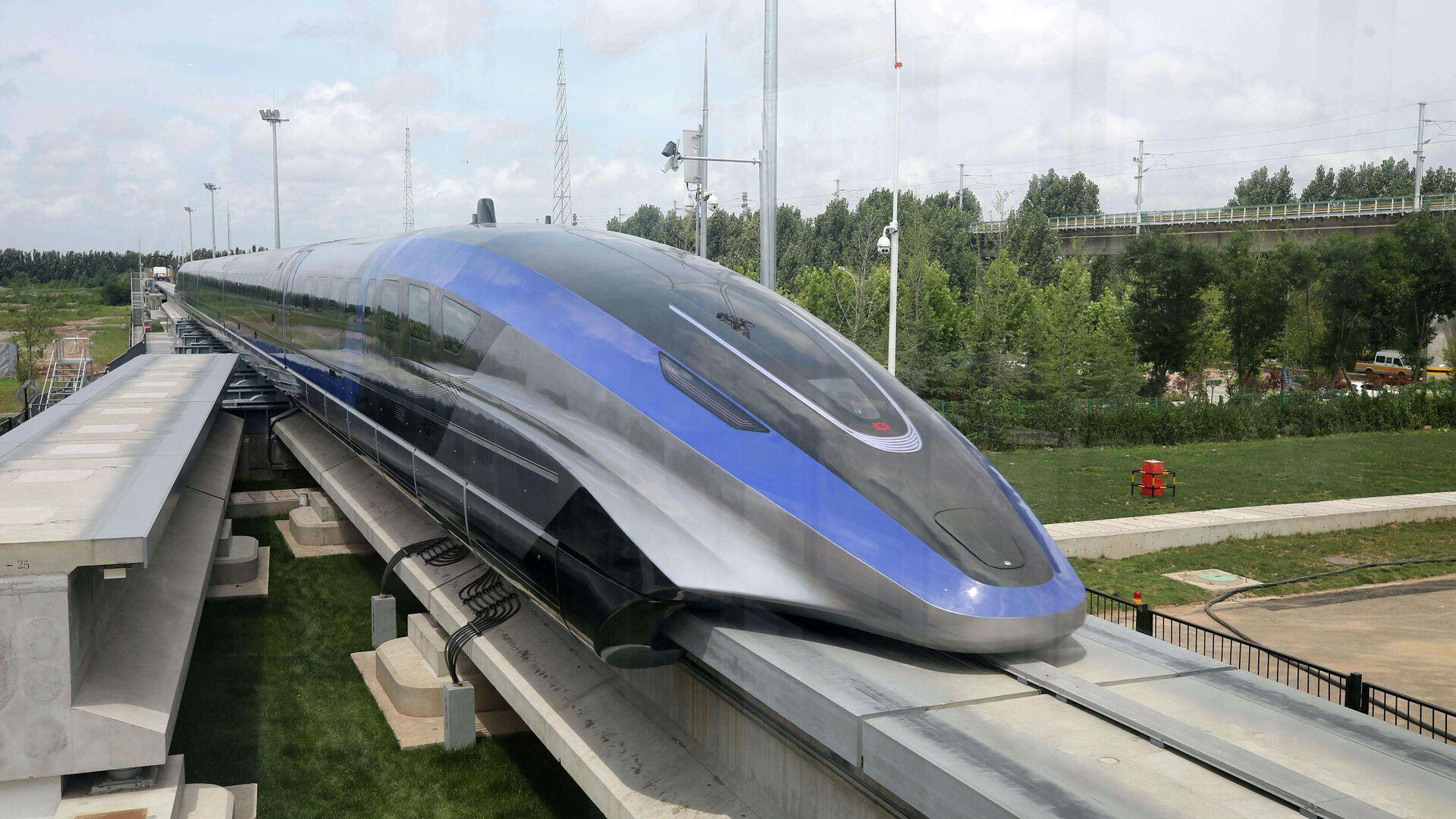 Tren de levitación magnética de alta velocidad chino - Sputnik Mundo, 1920, 20.07.2021