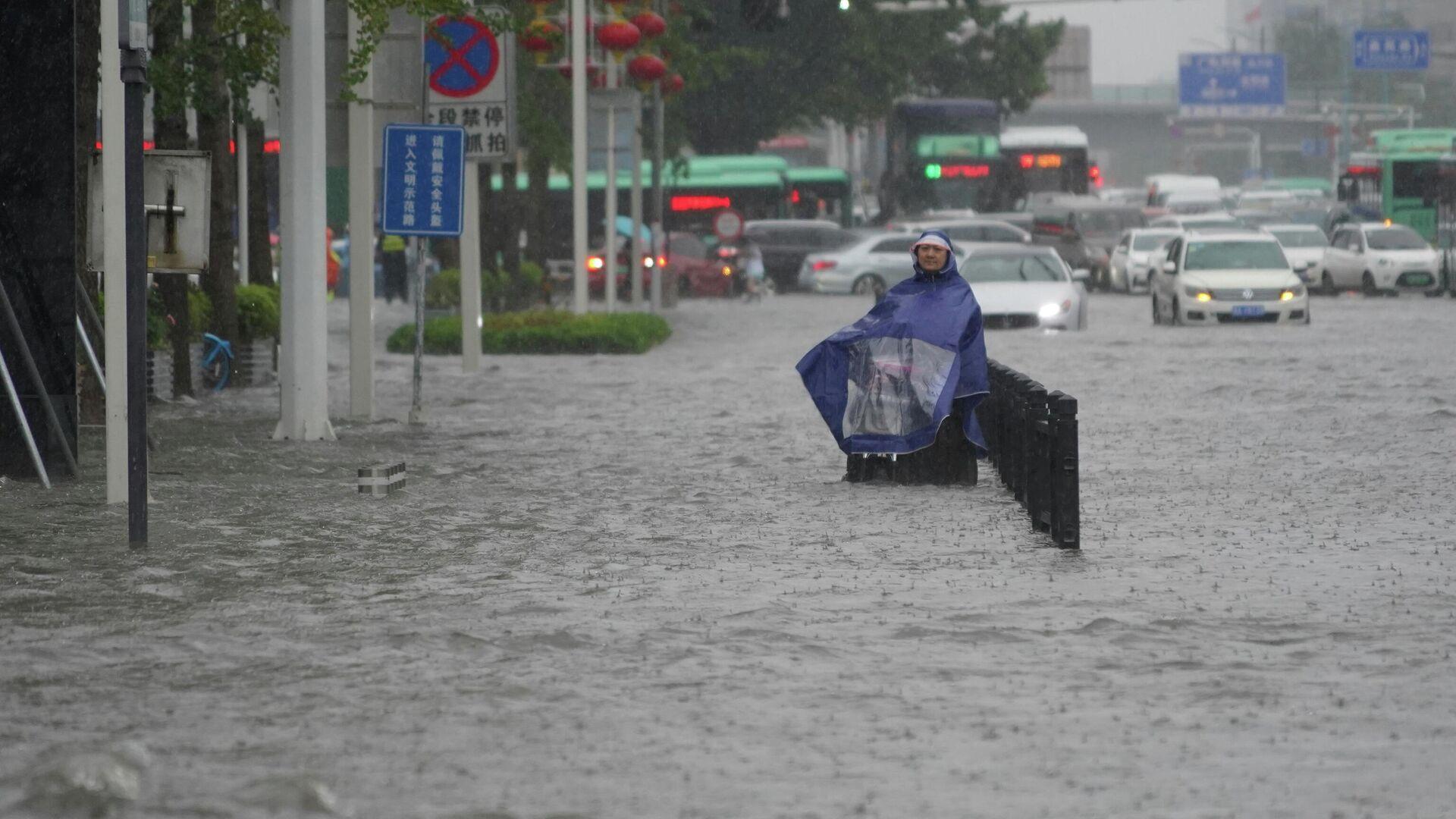 Inundaciones en Zhengzhou, China - Sputnik Mundo, 1920, 20.07.2021