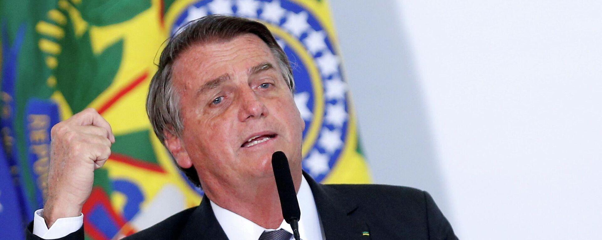 Jair Bolsonaro, presidente de Brasil - Sputnik Mundo, 1920, 20.07.2021