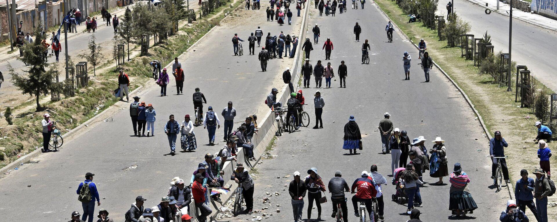 Protestas en El Alto, Bolivia - Sputnik Mundo, 1920, 20.07.2021