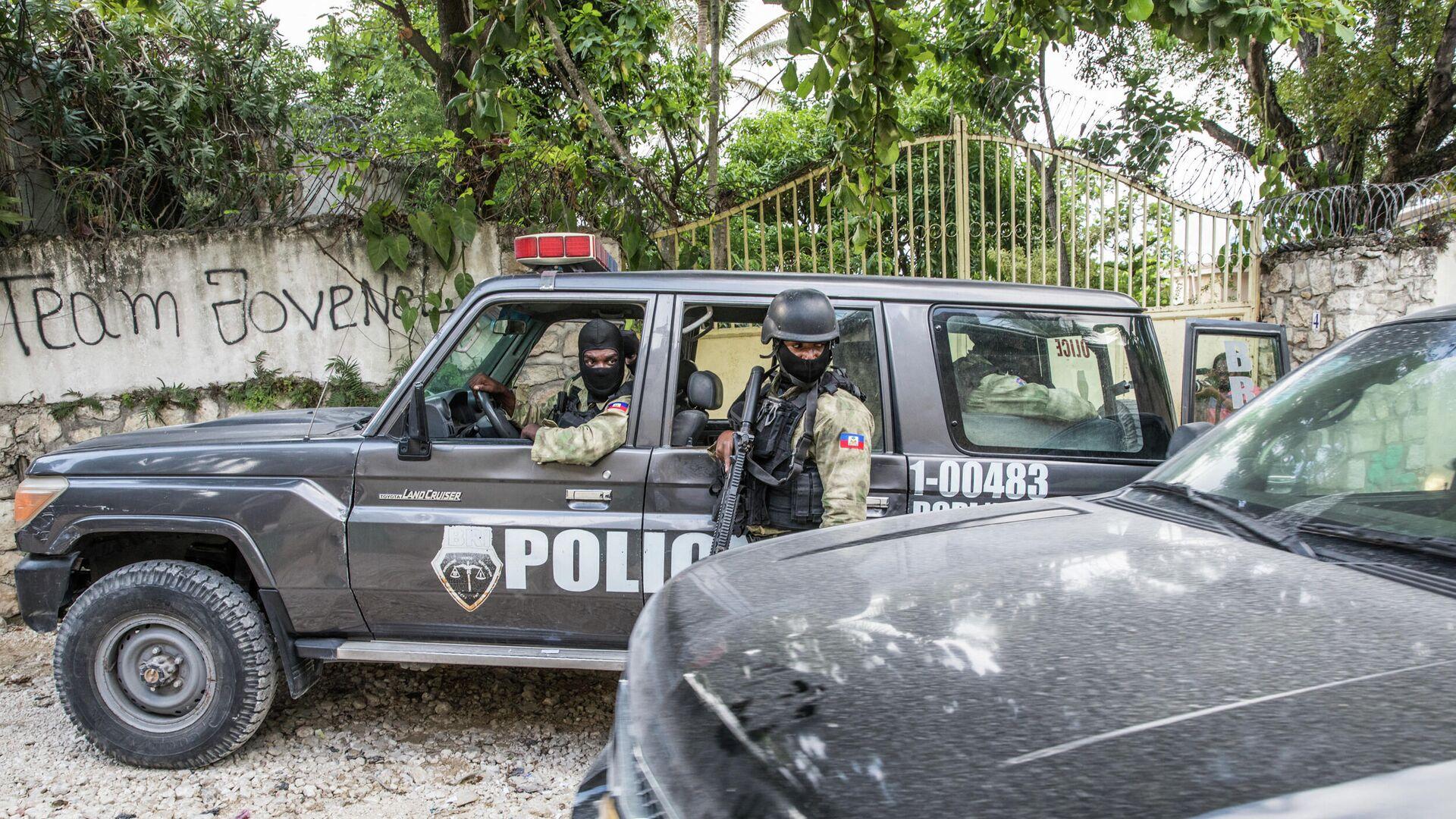 Policía de Haití - Sputnik Mundo, 1920, 20.07.2021