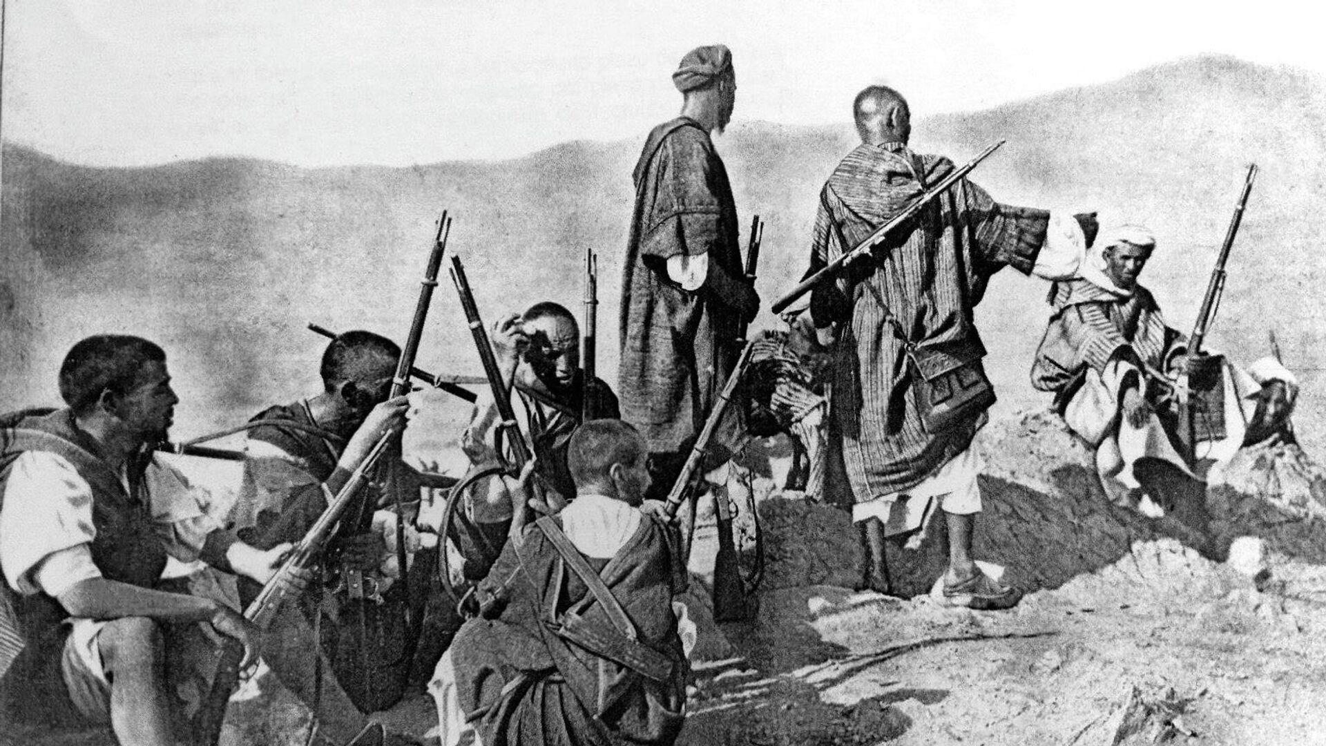 Escena de las Campañas de Marruecos - Sputnik Mundo, 1920, 21.07.2021