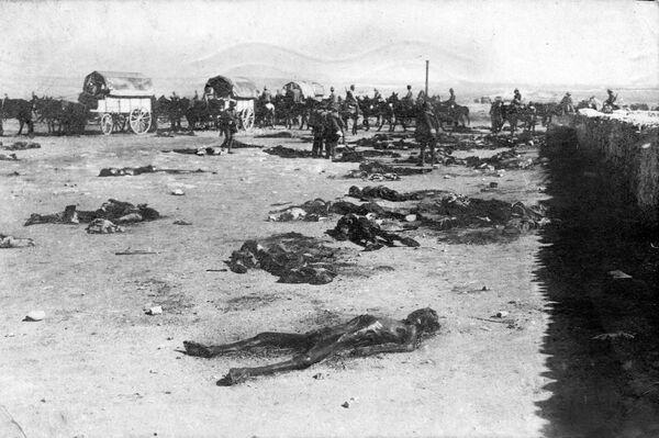 Cadáveres en el Monte Arruit - Sputnik Mundo
