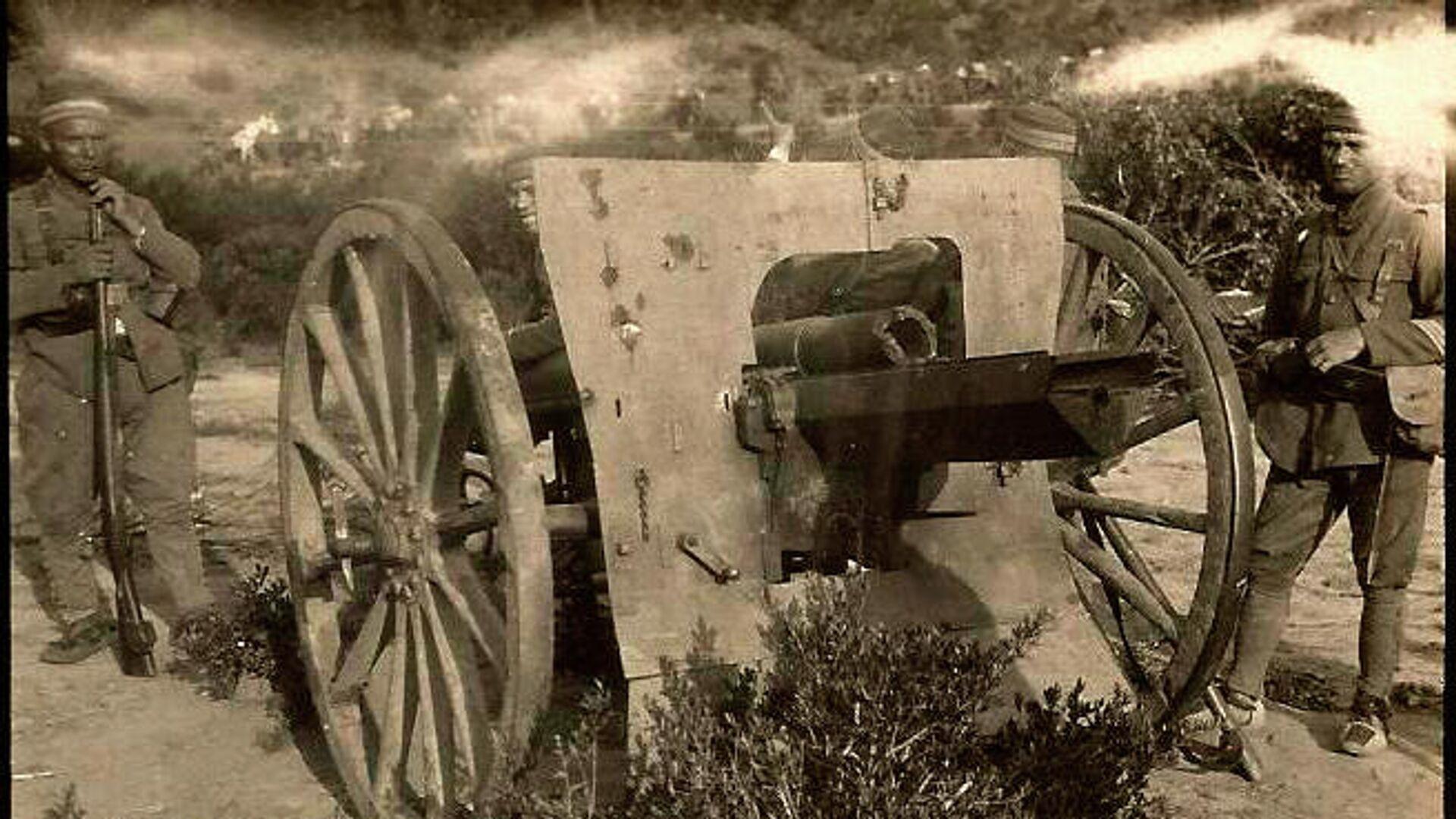 Artillería moderna y maltrecha - Sputnik Mundo, 1920, 21.07.2021