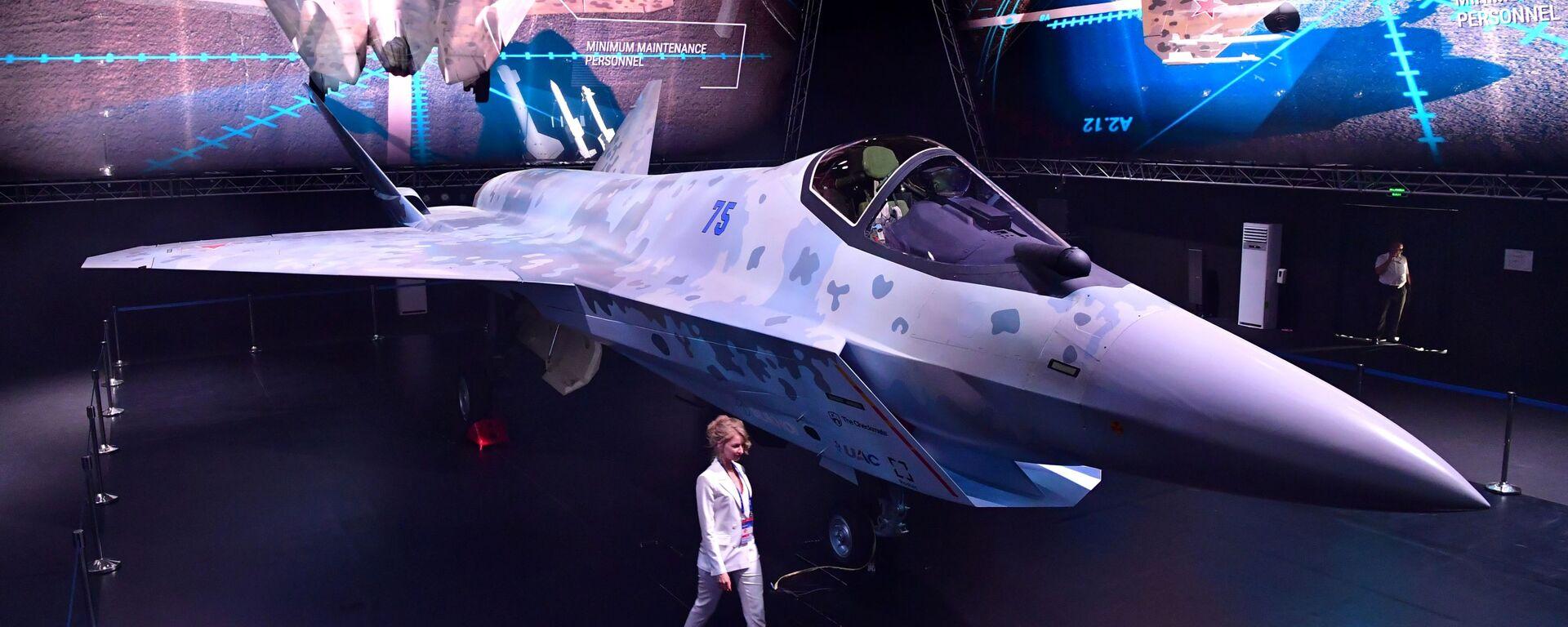 Презентация нового военного самолета Checkmate на МАКС-2021 - Sputnik Mundo, 1920, 21.07.2021