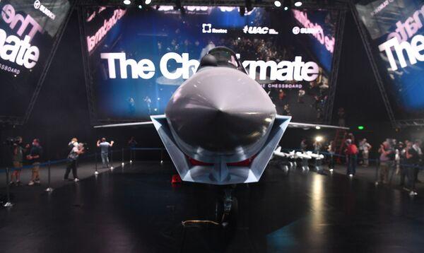 El piloto del Checkmate podrá contar con el respaldo de sistemas de inteligencia artificial.Además, la aeronave es poco detectable en los radares. - Sputnik Mundo