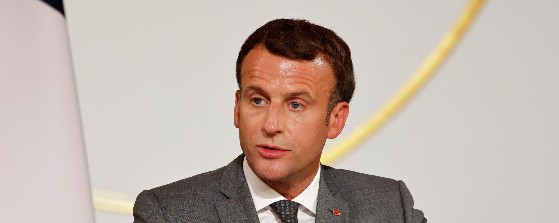 Emmanuel Macron, presidente de Francia - Sputnik Mundo, 1920, 21.07.2021