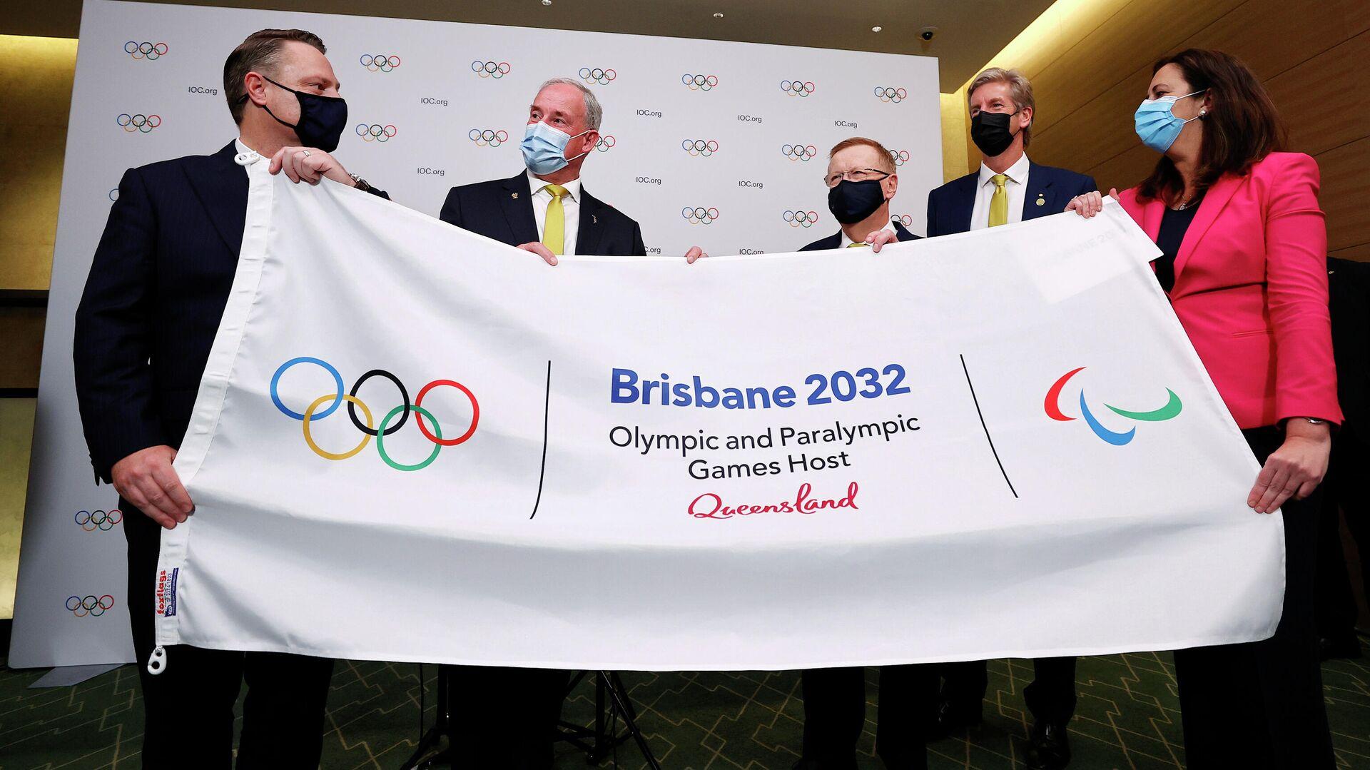 Brisbane 2032, elegida como anfitriona de los 35 Juegos Olímpicos - Sputnik Mundo, 1920, 21.07.2021