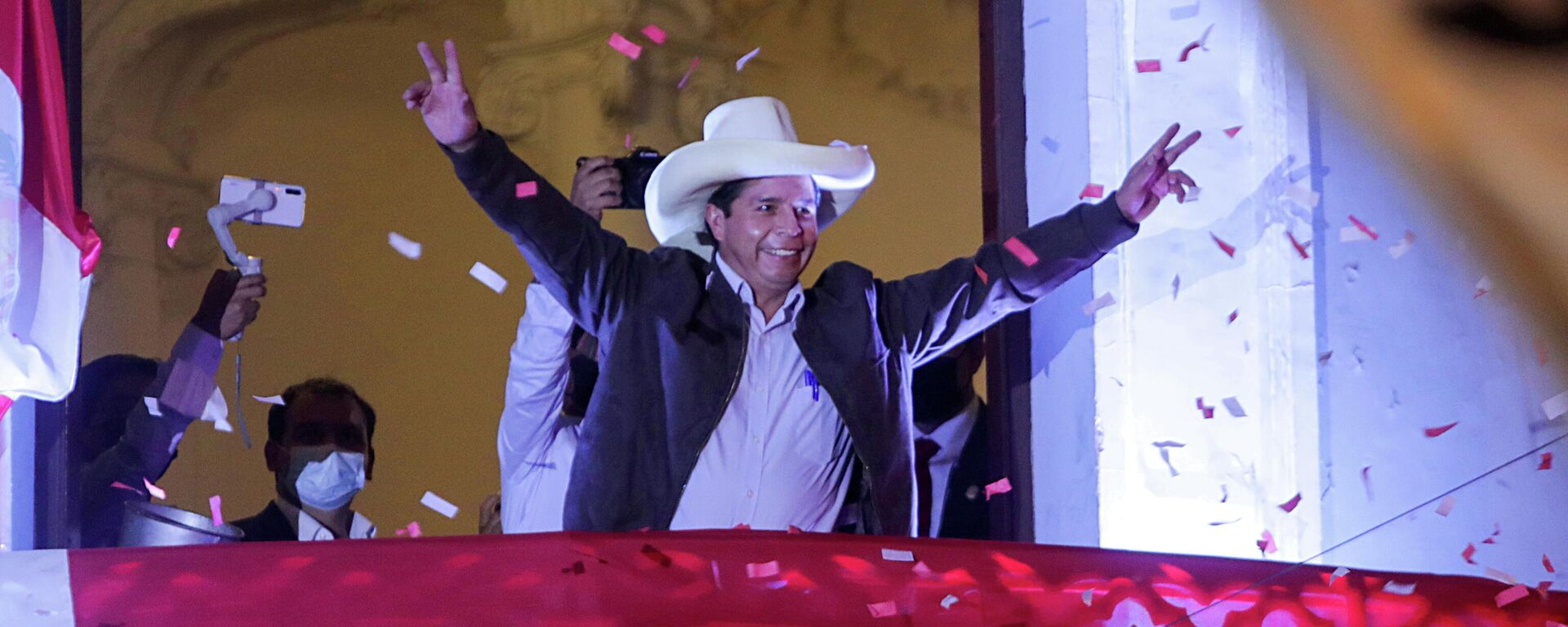 E presidente electo de Perú, Pedro Castillo - Sputnik Mundo, 1920, 21.07.2021
