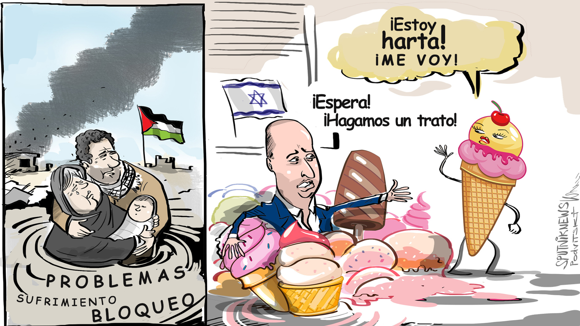 Israel vs. los helados Ben & Jerry's - Sputnik Mundo, 1920, 21.07.2021