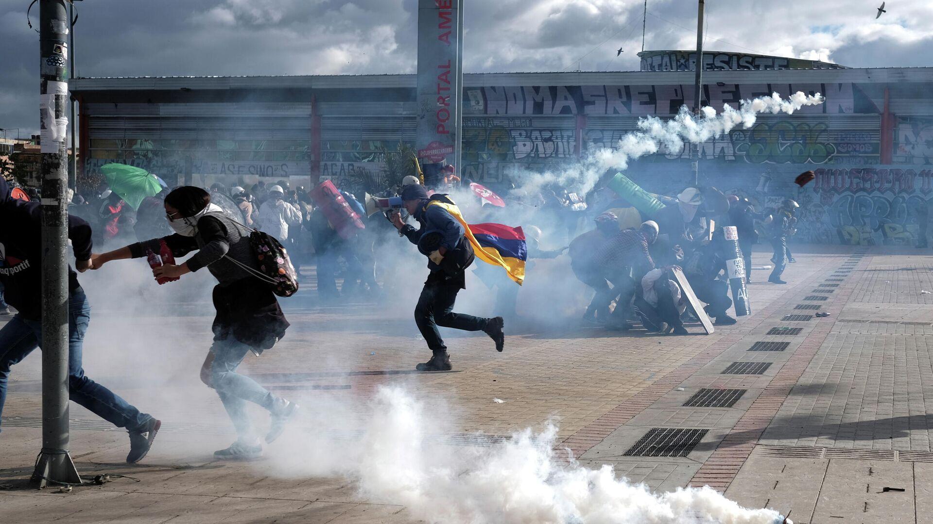 Protestas en Colombia - Sputnik Mundo, 1920, 21.07.2021