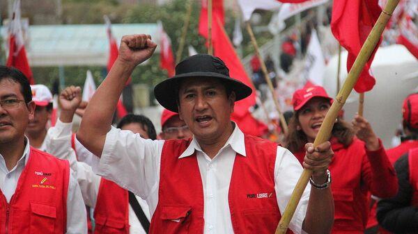 Valdimir Cerrón, líder y fundador de Perú Libre - Sputnik Mundo