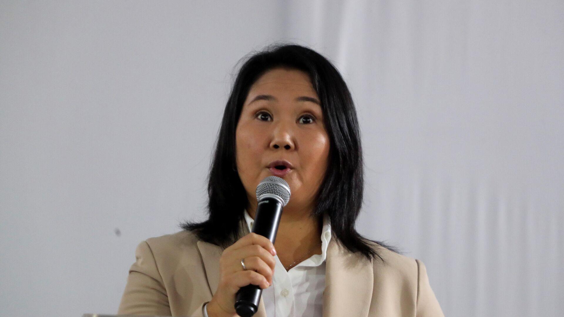 Keiko Fujimori, excandidata a la presidencia de Perú - Sputnik Mundo, 1920, 22.07.2021