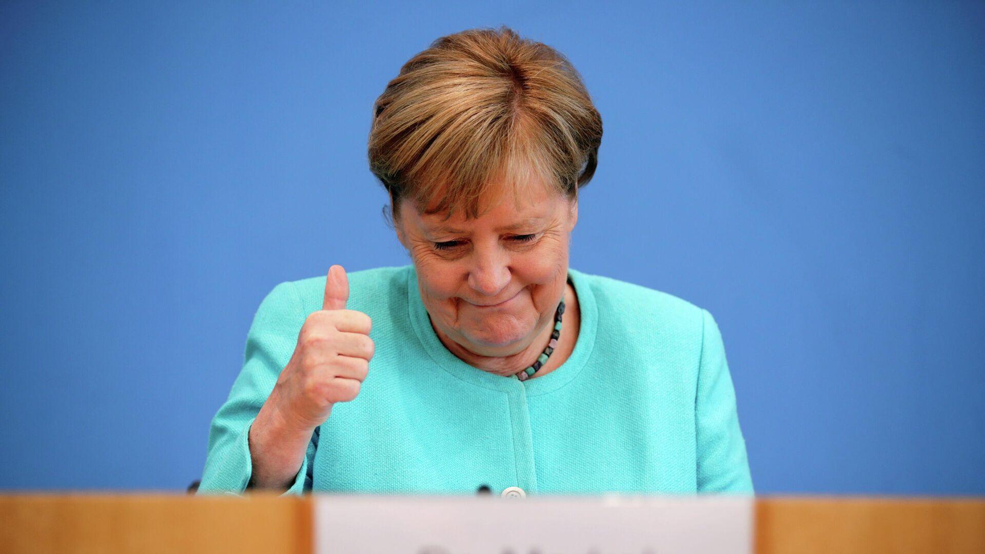 Angela Merkel, canciller alemana - Sputnik Mundo, 1920, 22.07.2021