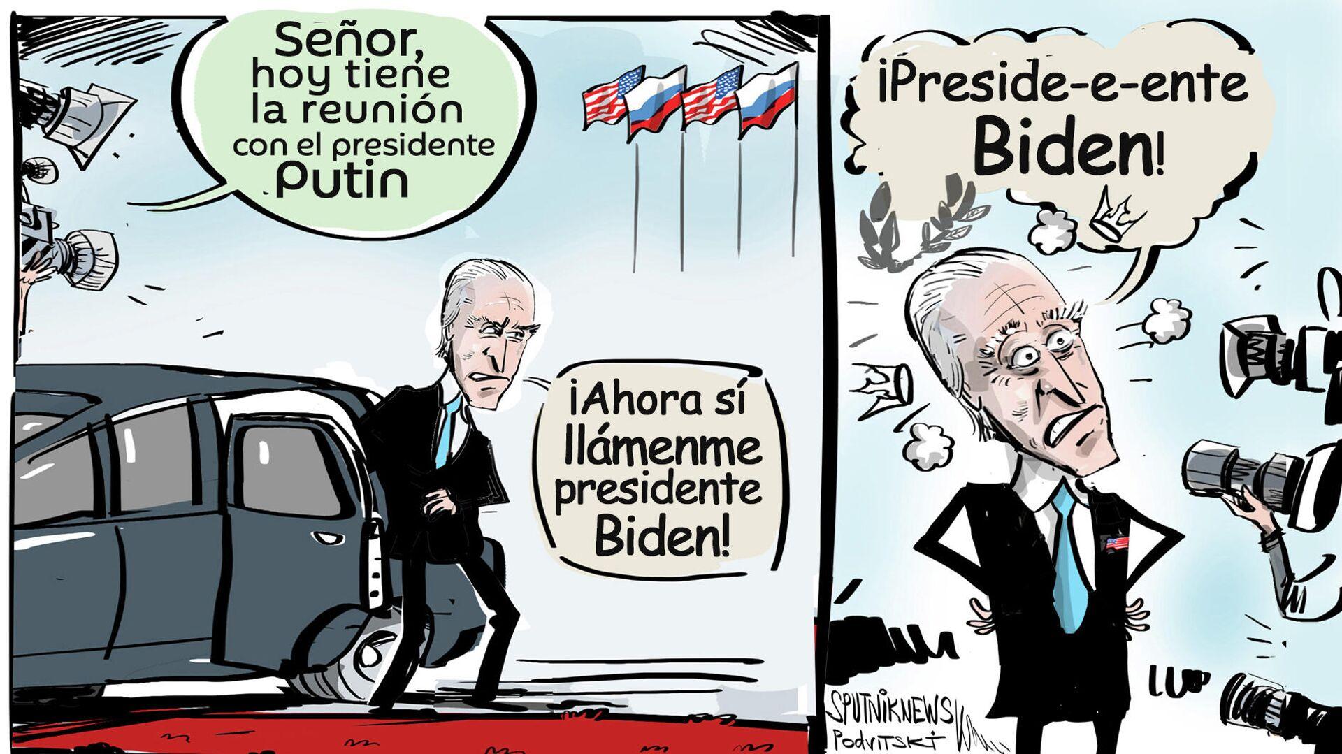 Biden solo se dio cuenta de que era presidente al reunirse con Putin - Sputnik Mundo, 1920, 22.07.2021