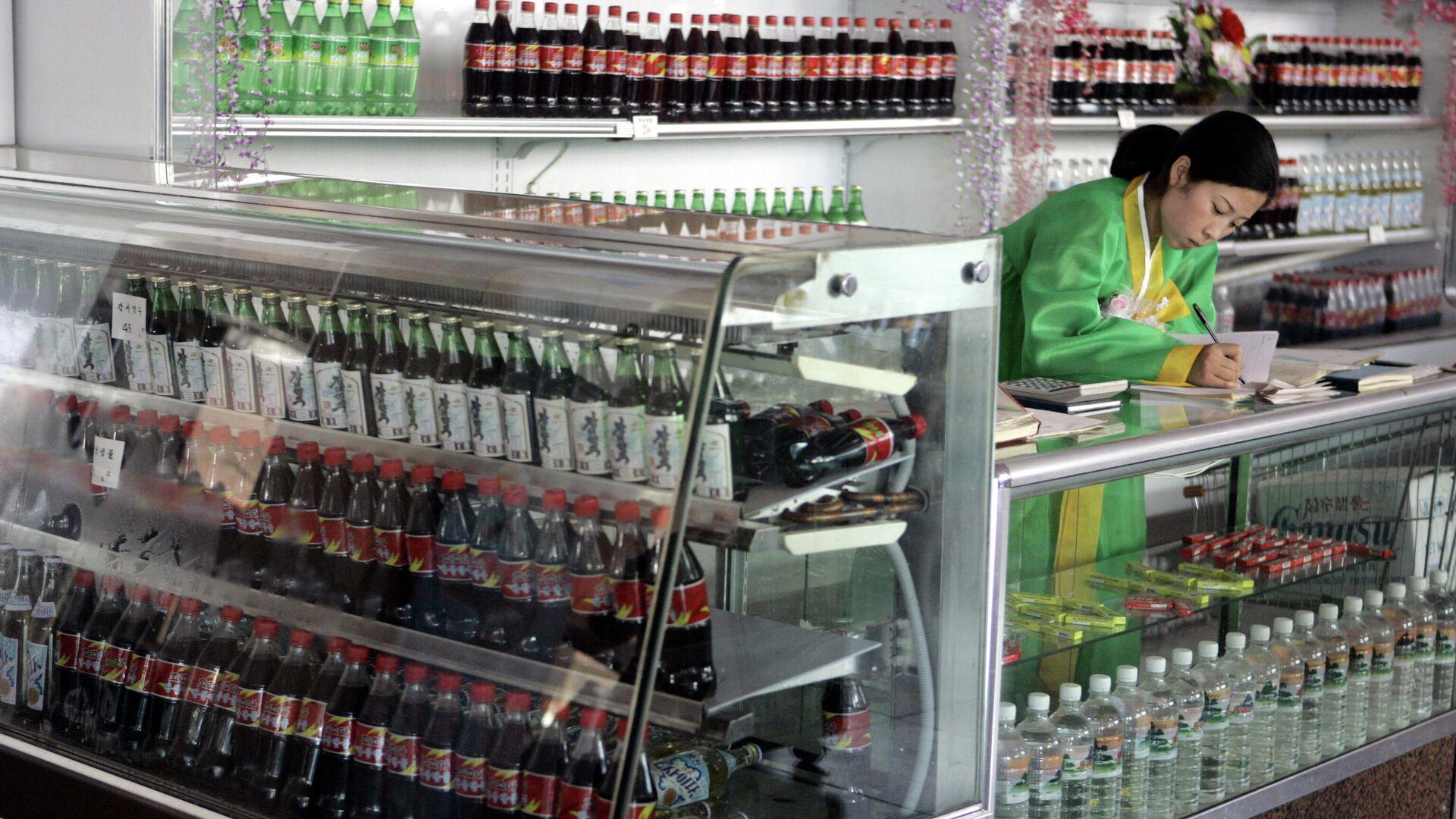 Una tienda en Pyongyang - Sputnik Mundo, 1920, 22.07.2021