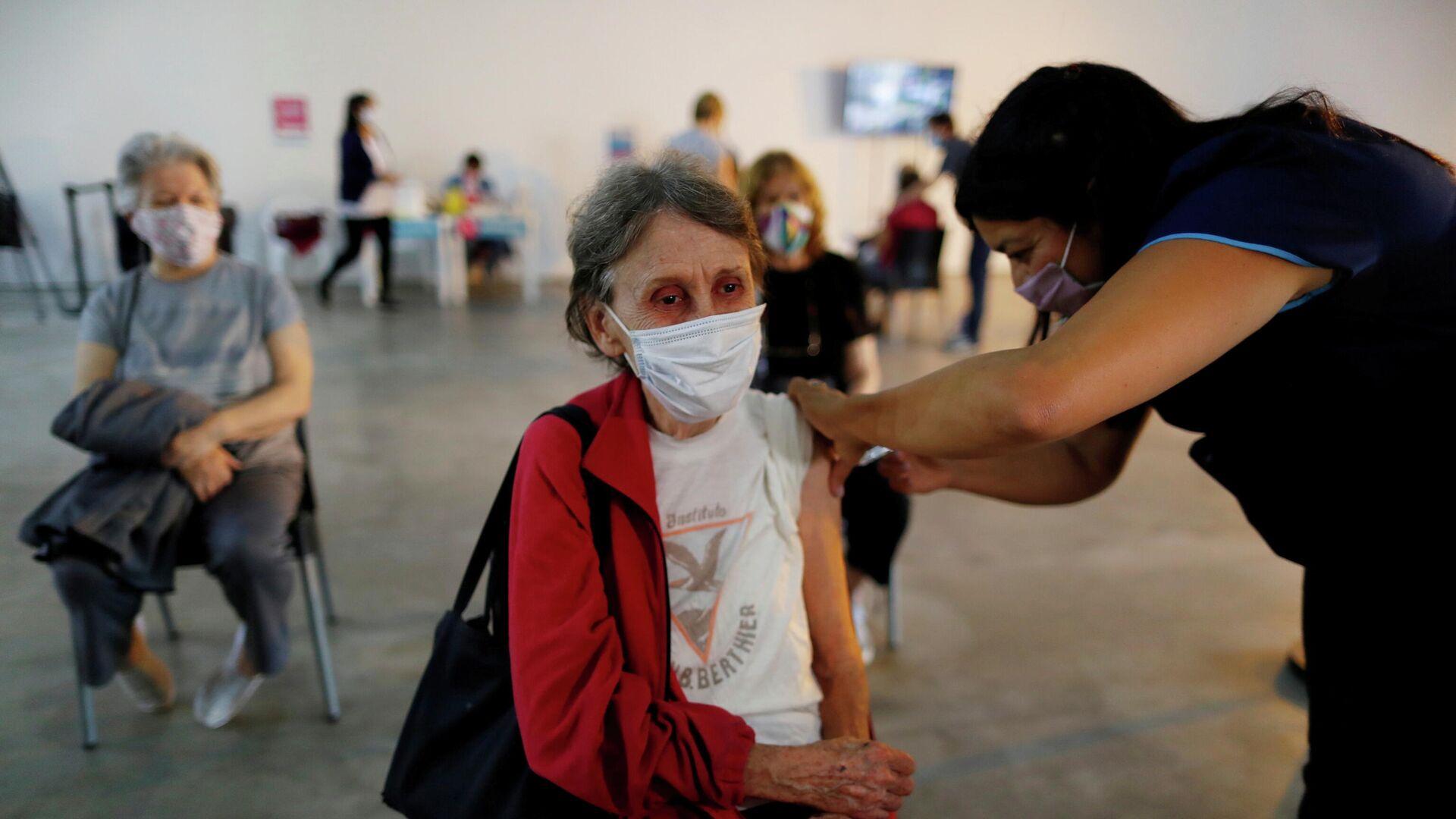 Vacunación contra el coronavirus en Argentina - Sputnik Mundo, 1920, 22.07.2021