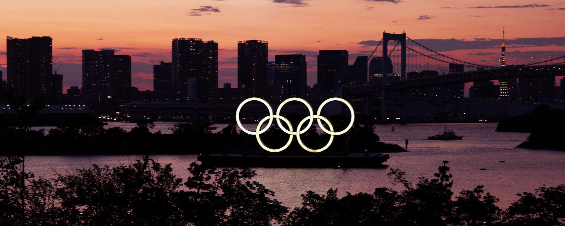Aros olímpicos en Tokio, Japón - Sputnik Mundo, 1920, 22.07.2021
