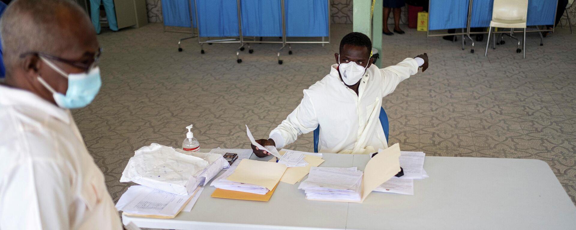 Vacunación contra COVID-19 en Puerto Príncipe, Haití - Sputnik Mundo, 1920, 23.07.2021