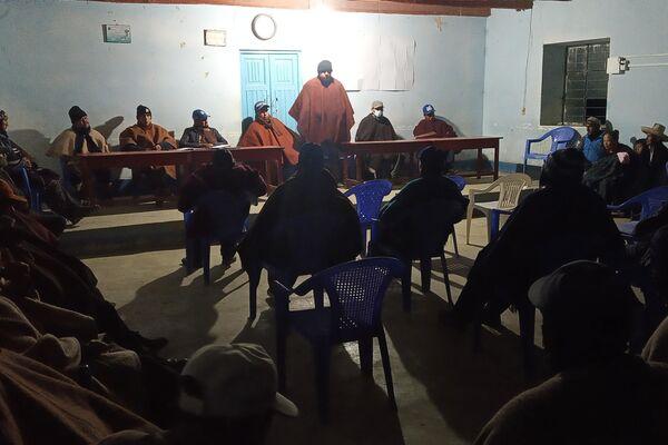 Reunión de las rondas campesinas en Colpatuapampa - Sputnik Mundo