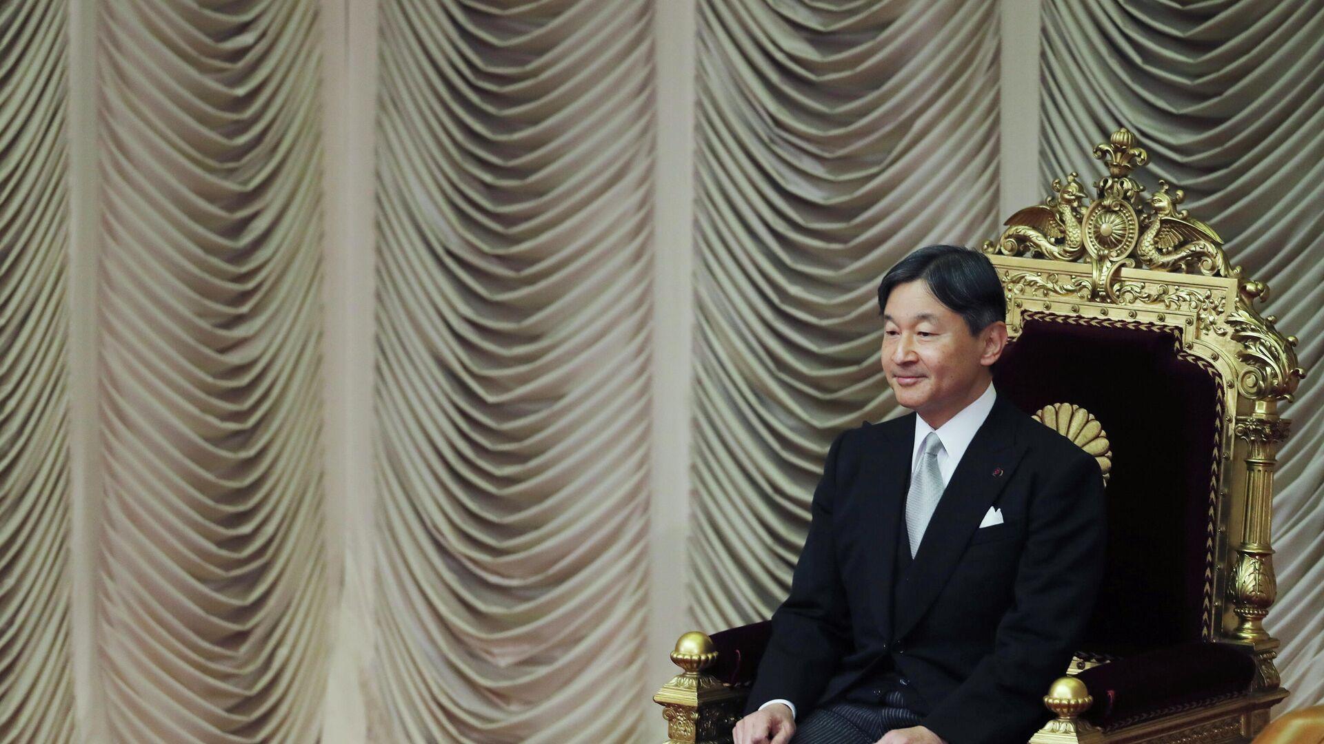 El emperador de Japón, Naruhito - Sputnik Mundo, 1920, 23.07.2021