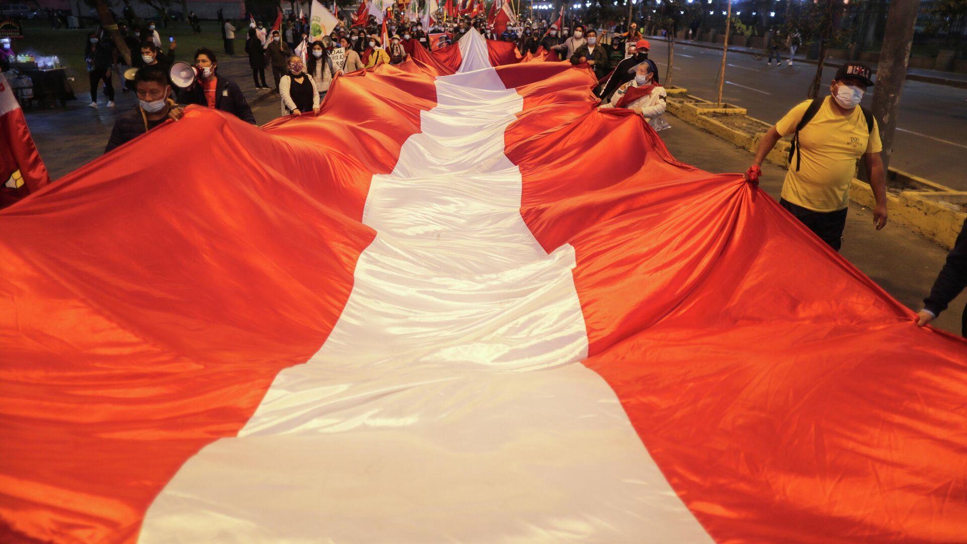 La bandera de Perú - Sputnik Mundo, 1920, 23.07.2021