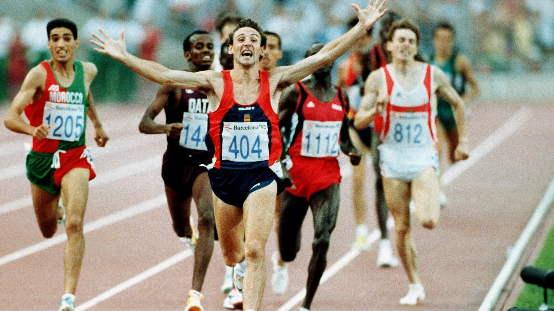 Fermín Cacho, primera medalla de oro olímpica de la historia para el atletismo español - Sputnik Mundo, 1920, 23.07.2021