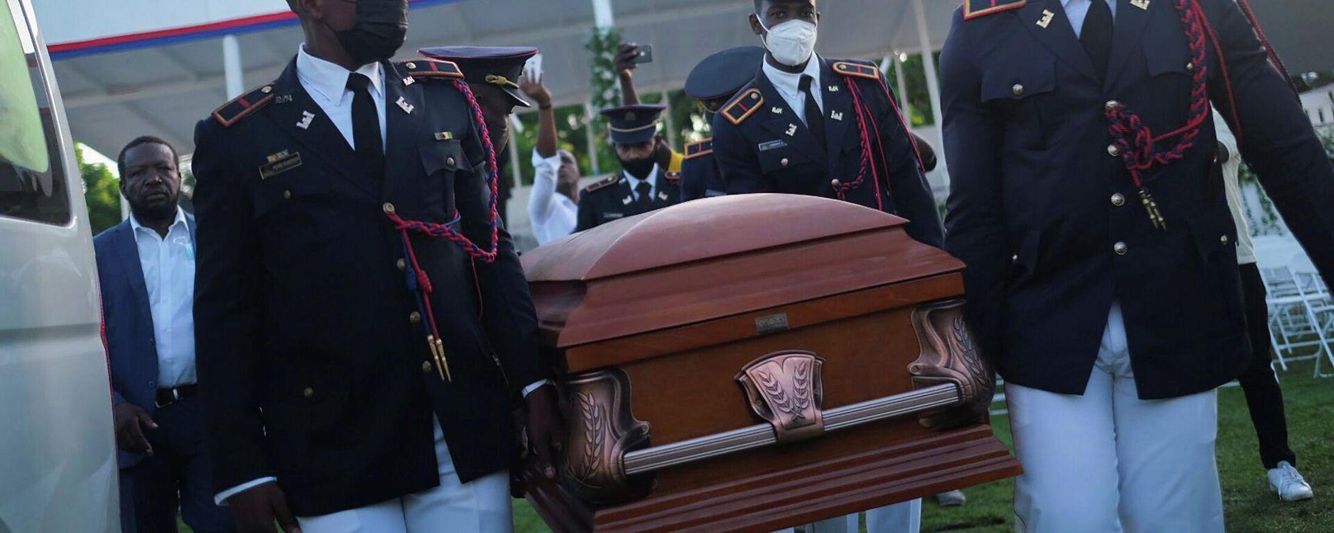 Los funerales nacionales del presidente asesinado de Haití, Jovenel Moise - Sputnik Mundo, 1920, 23.07.2021