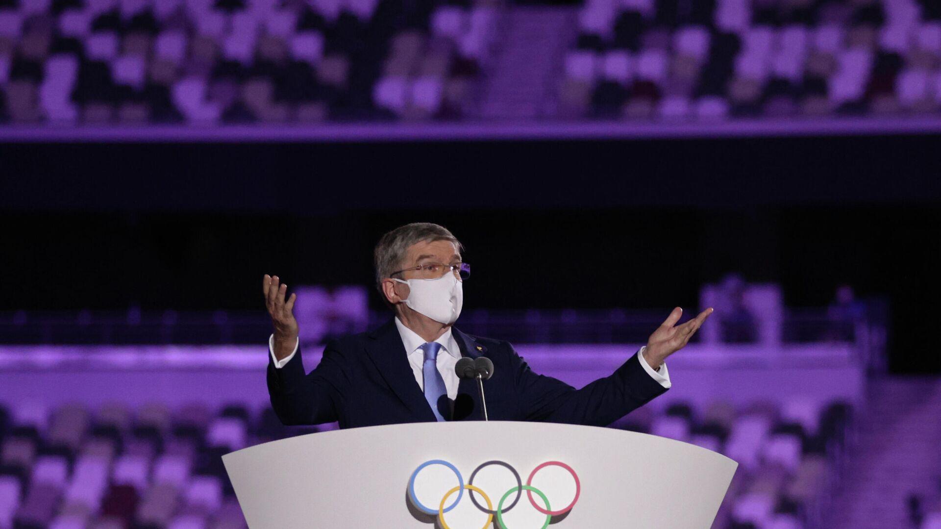 Thomas Bach, presidente del Comité Olímpico Internacional (COI) - Sputnik Mundo, 1920, 23.07.2021
