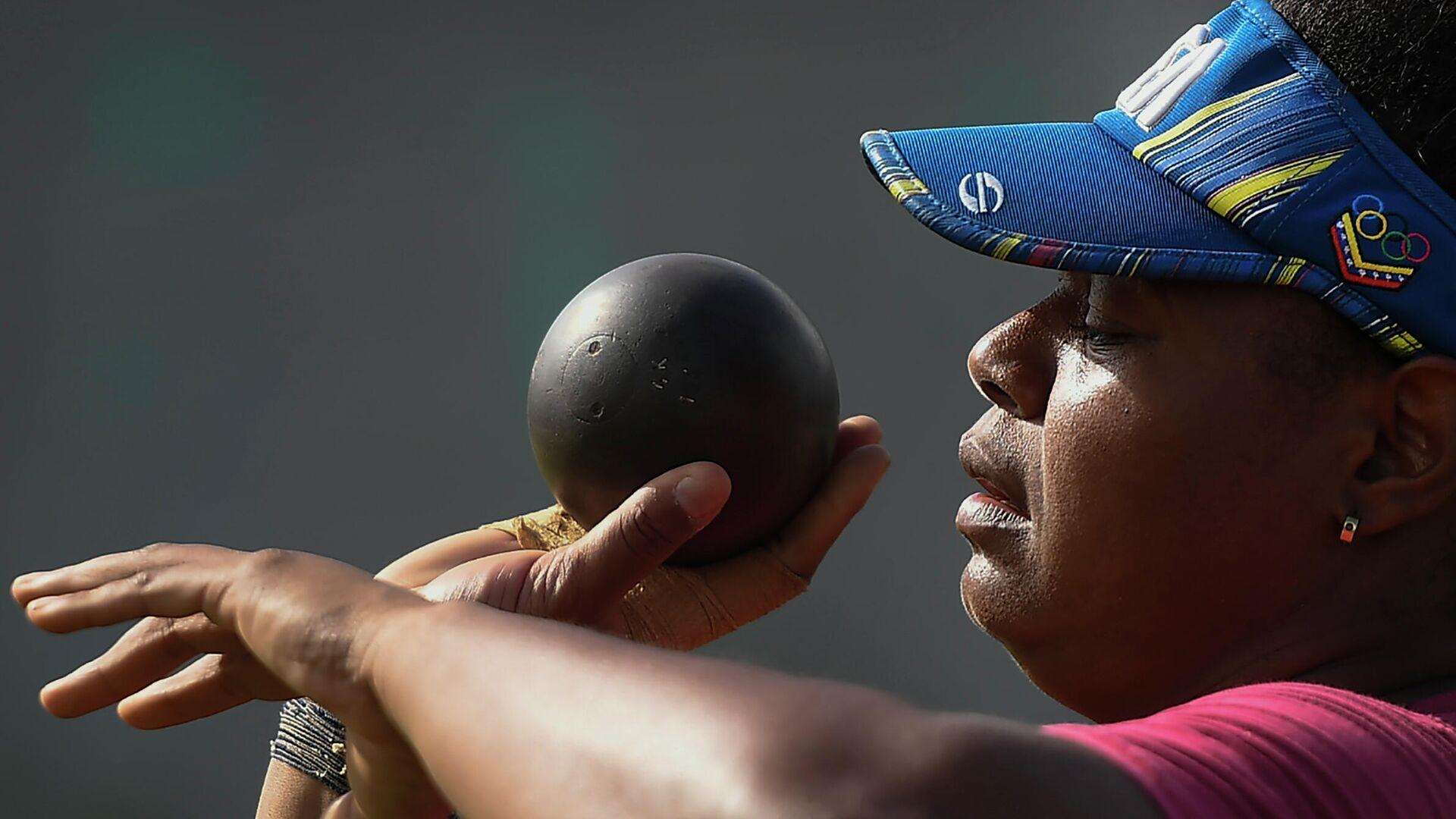 Ahymara Espinoza, atleta venezolana de lanzamiento de bala - Sputnik Mundo, 1920, 23.07.2021