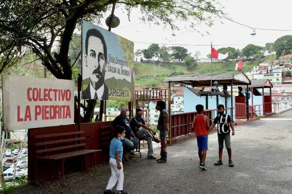 Sector La Piedrita en el barrio 23 de Enero - Sputnik Mundo