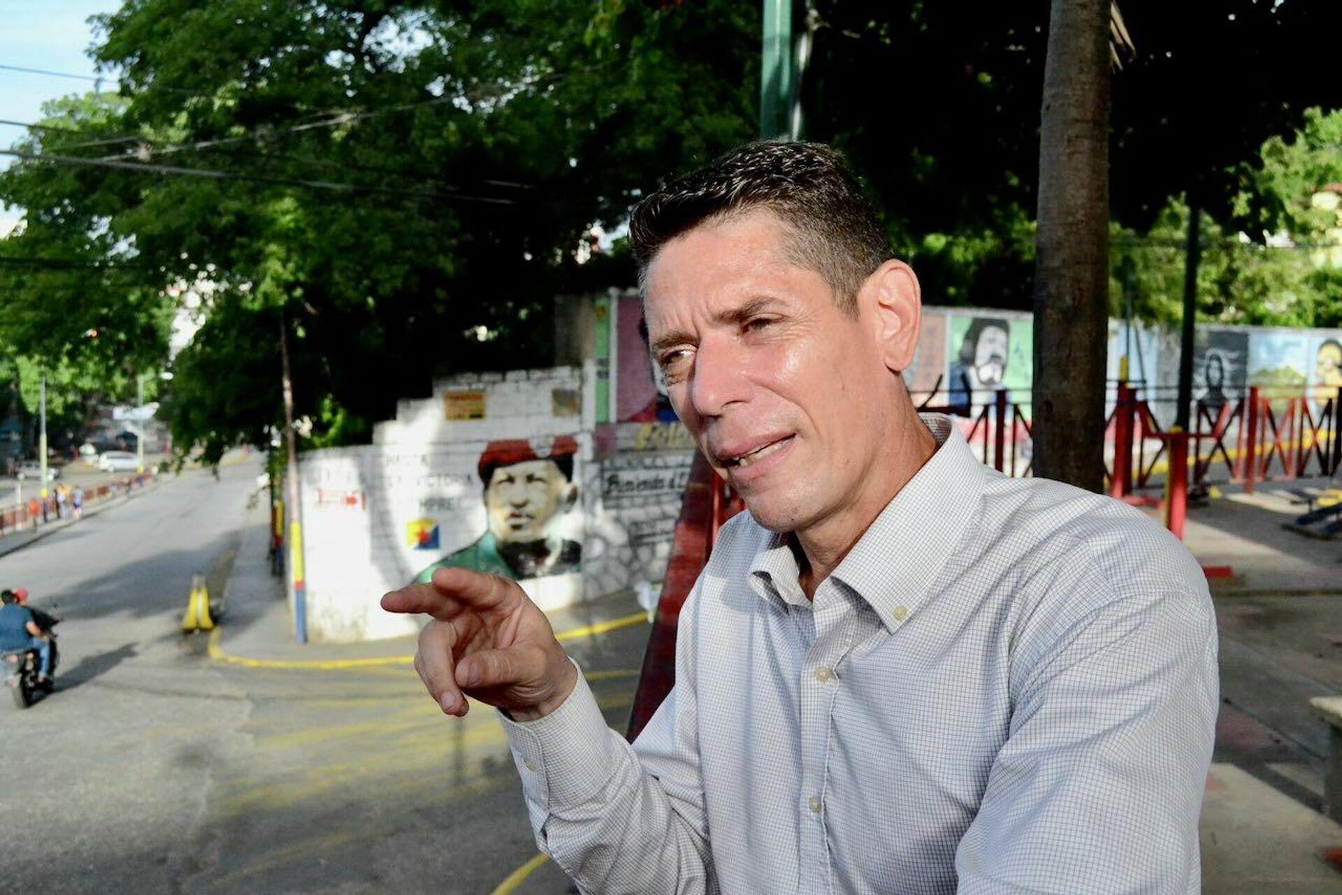 David Pulido, líder del colectivo del 23 de Enero Vanguardia Zamorana: Tenemos un sistema popular de alerta temprana - Sputnik Mundo, 1920, 23.07.2021